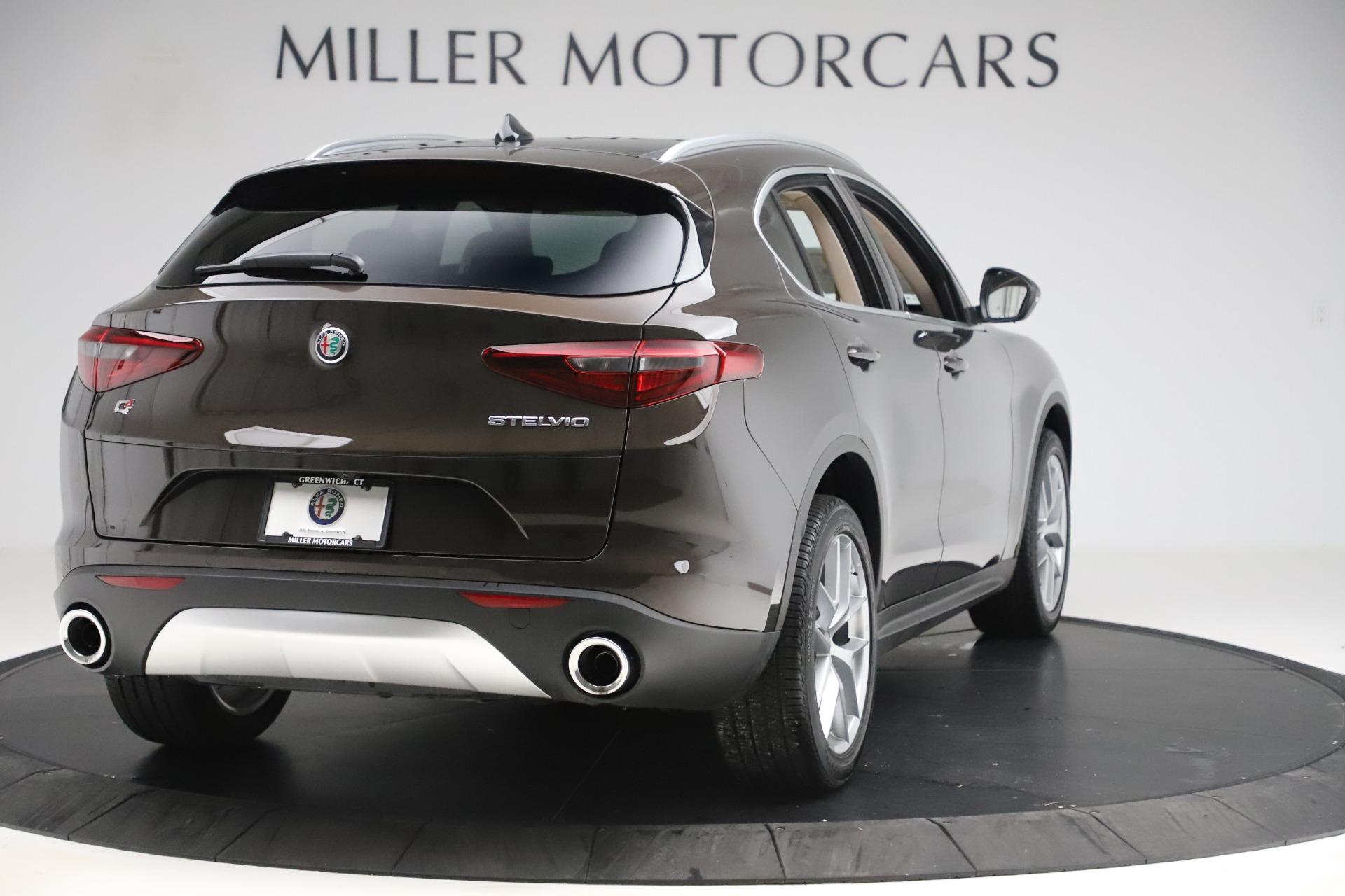 New 2019 Alfa Romeo Stelvio Ti Lusso Q4 For Sale In Westport, CT 3404_p7