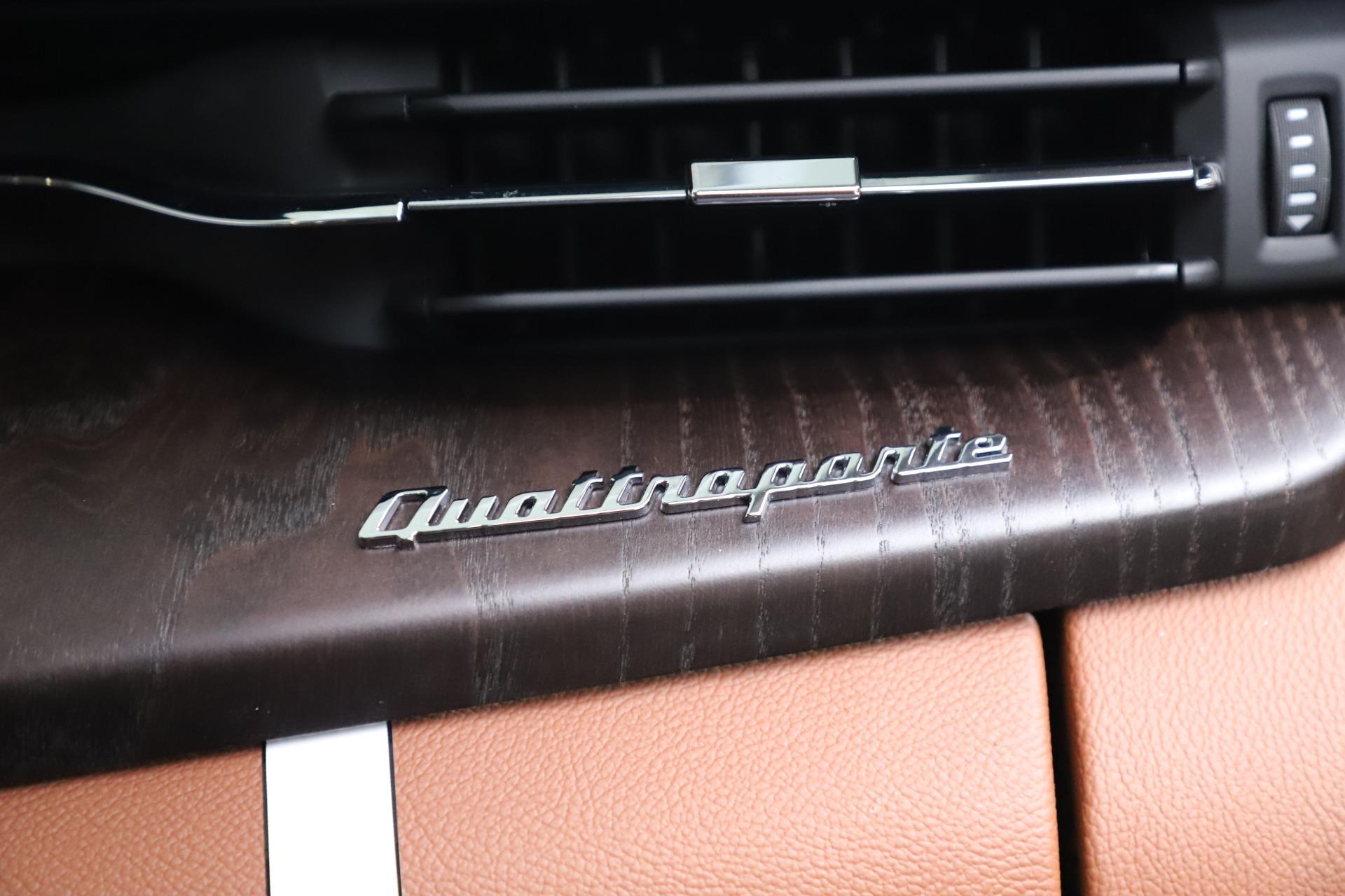 New 2019 Maserati Quattroporte S Q4 For Sale In Westport, CT 3440_p30