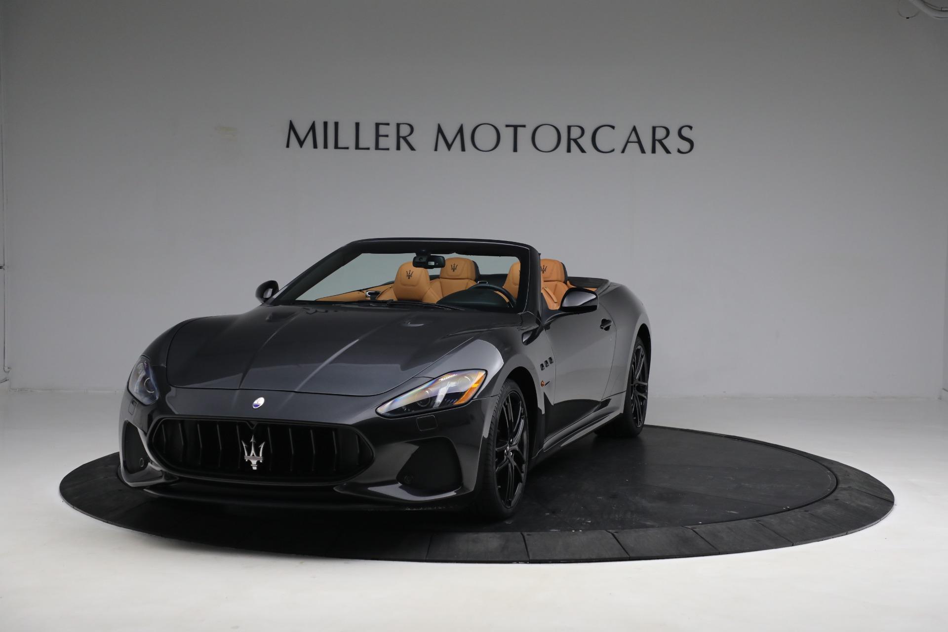 New 2019 Maserati GranTurismo MC Convertible For Sale In Westport, CT 3468_main