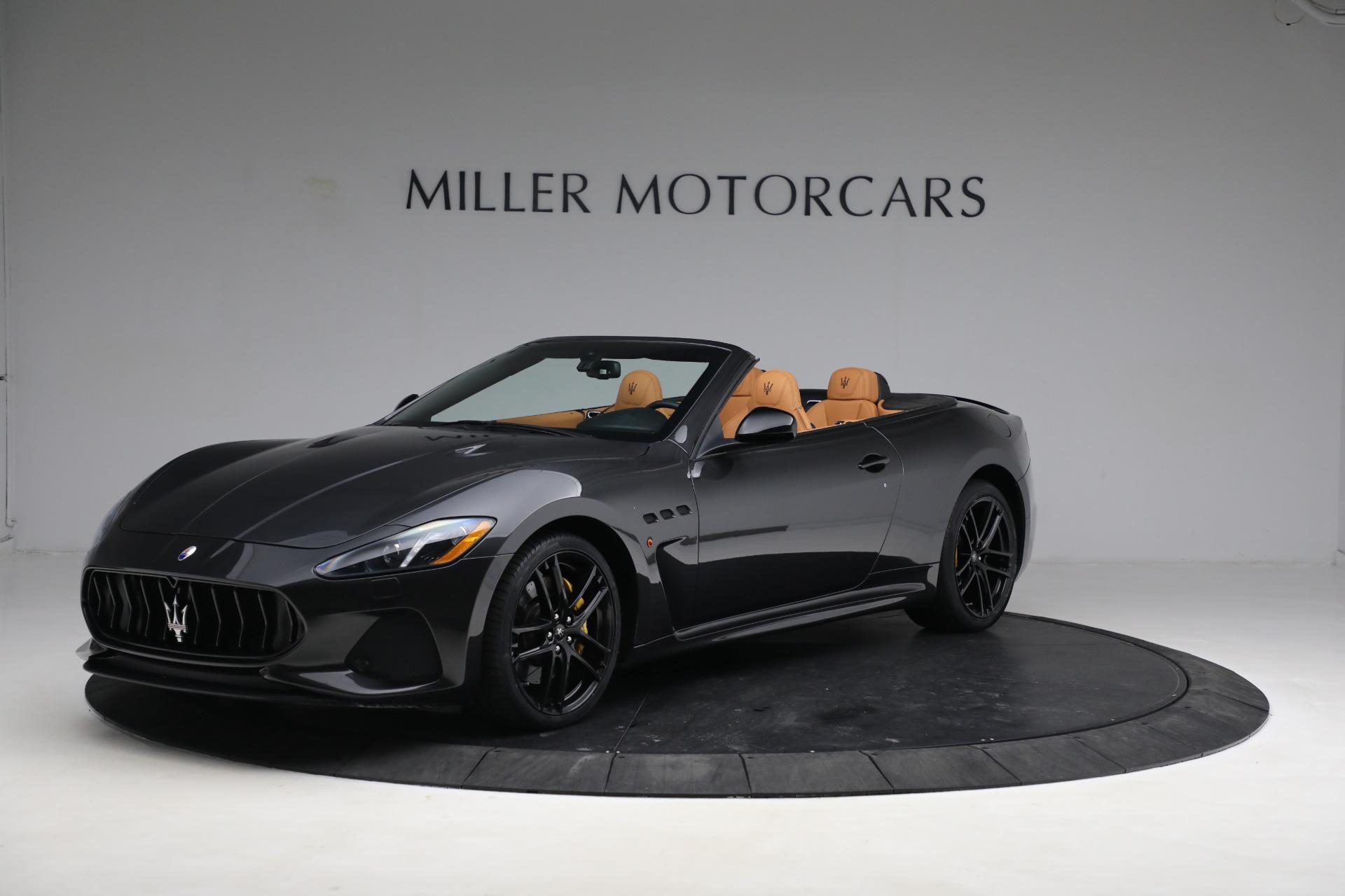 New 2019 Maserati GranTurismo MC Convertible For Sale In Westport, CT 3468_p2