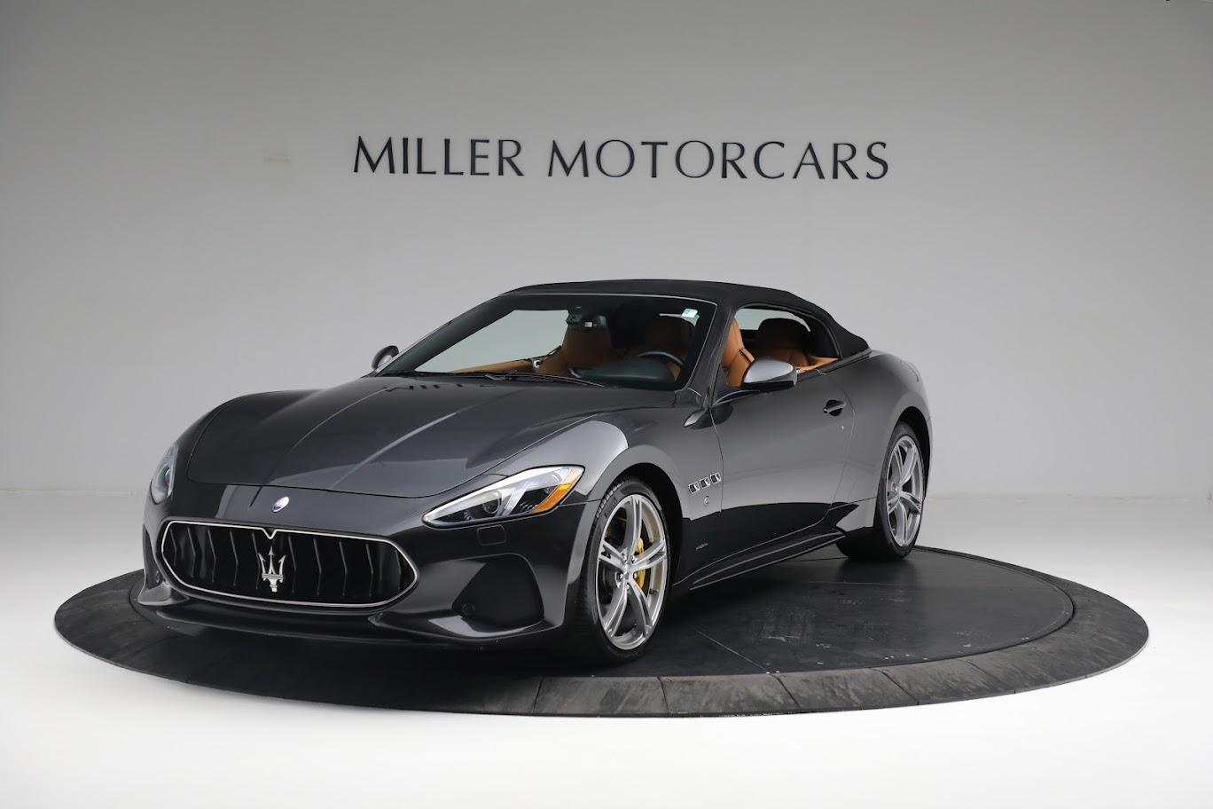 New 2019 Maserati GranTurismo Sport Convertible For Sale In Westport, CT 3469_main
