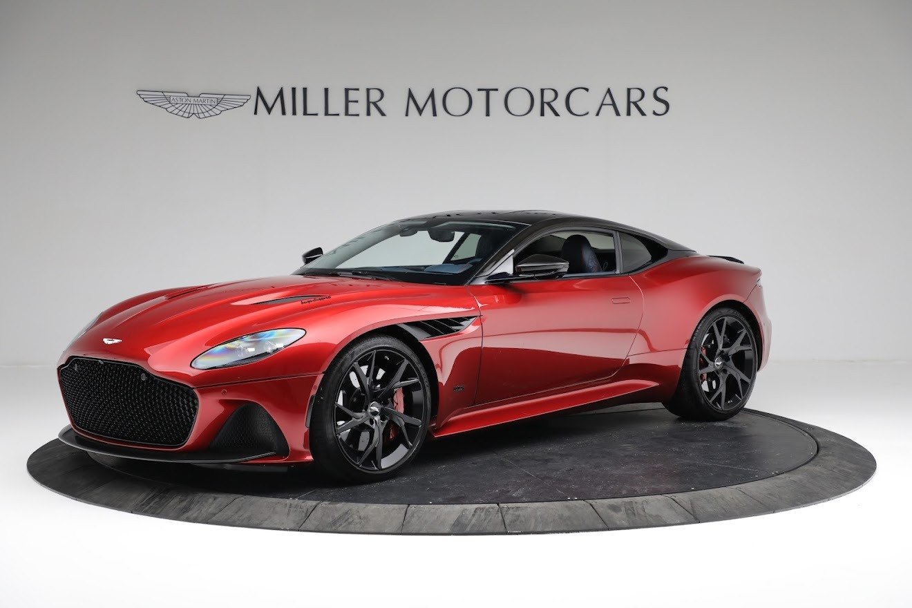 Used 2019 Aston Martin DBS Superleggera For Sale In Westport, CT 3471_main