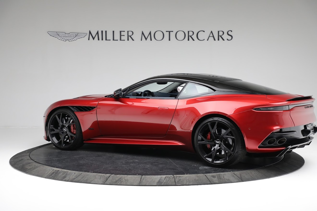 Used 2019 Aston Martin DBS Superleggera For Sale In Westport, CT 3471_p3
