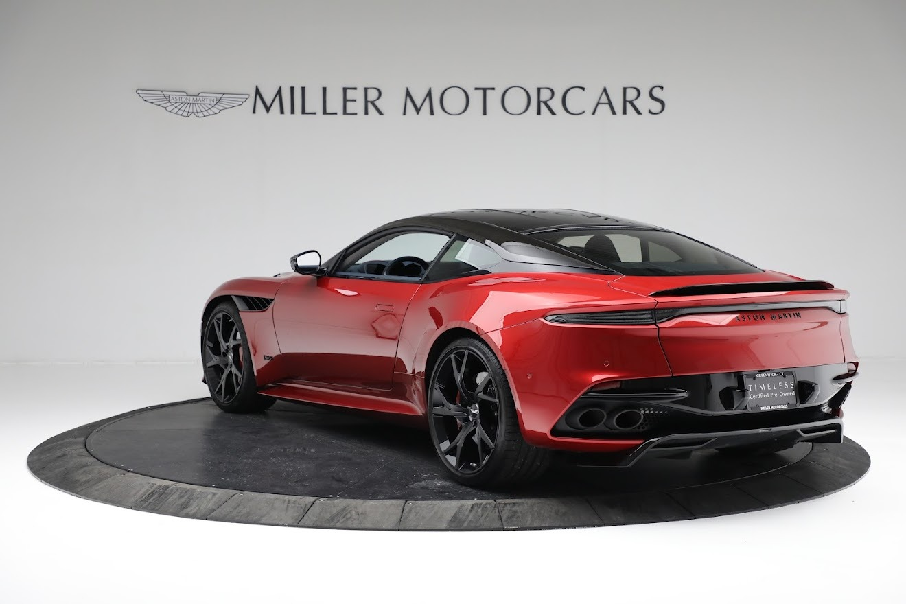 Used 2019 Aston Martin DBS Superleggera For Sale In Westport, CT 3471_p4