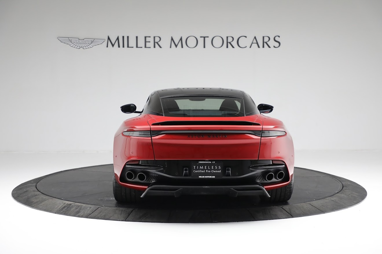 Used 2019 Aston Martin DBS Superleggera For Sale In Westport, CT 3471_p5