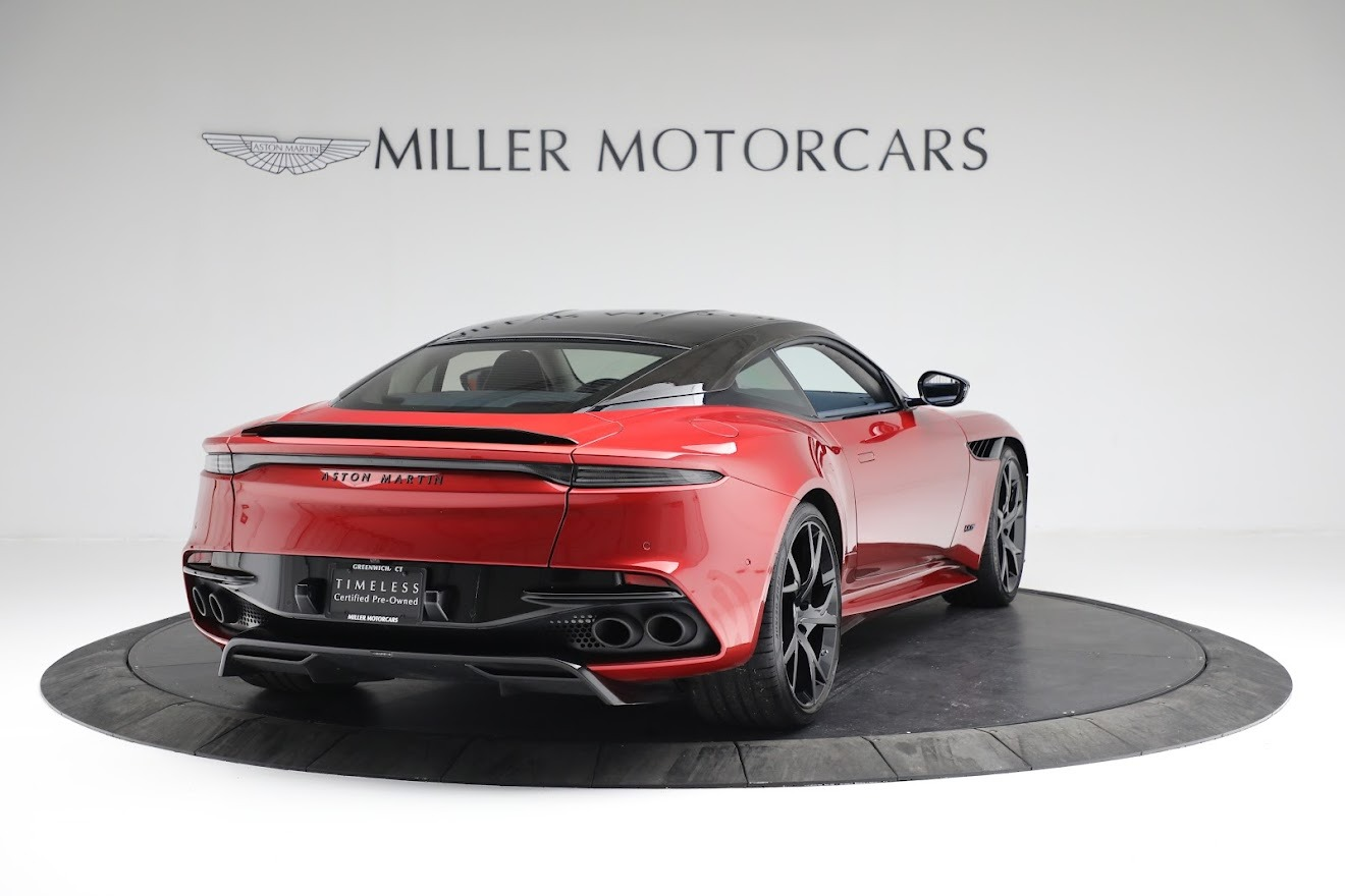 Used 2019 Aston Martin DBS Superleggera For Sale In Westport, CT 3471_p6