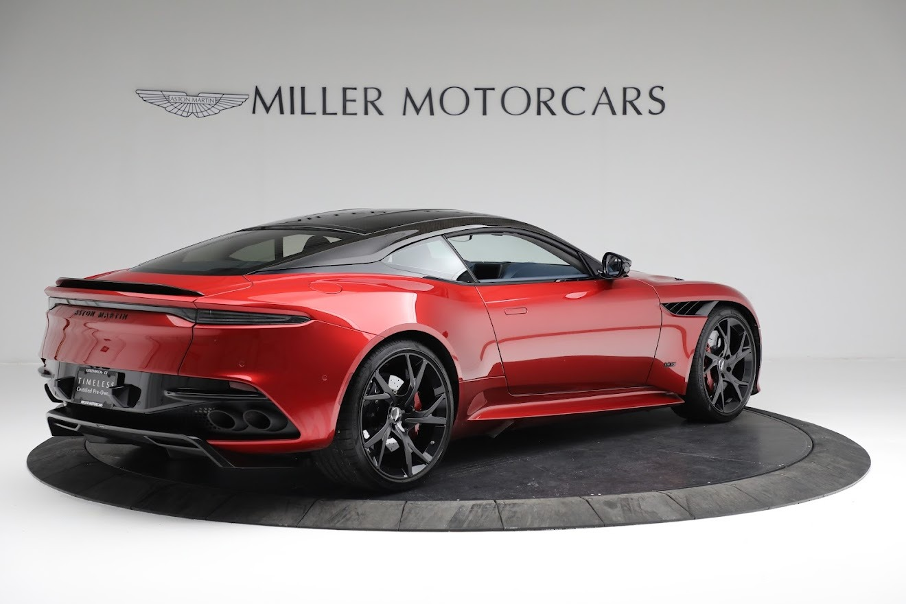 Used 2019 Aston Martin DBS Superleggera For Sale In Westport, CT 3471_p7