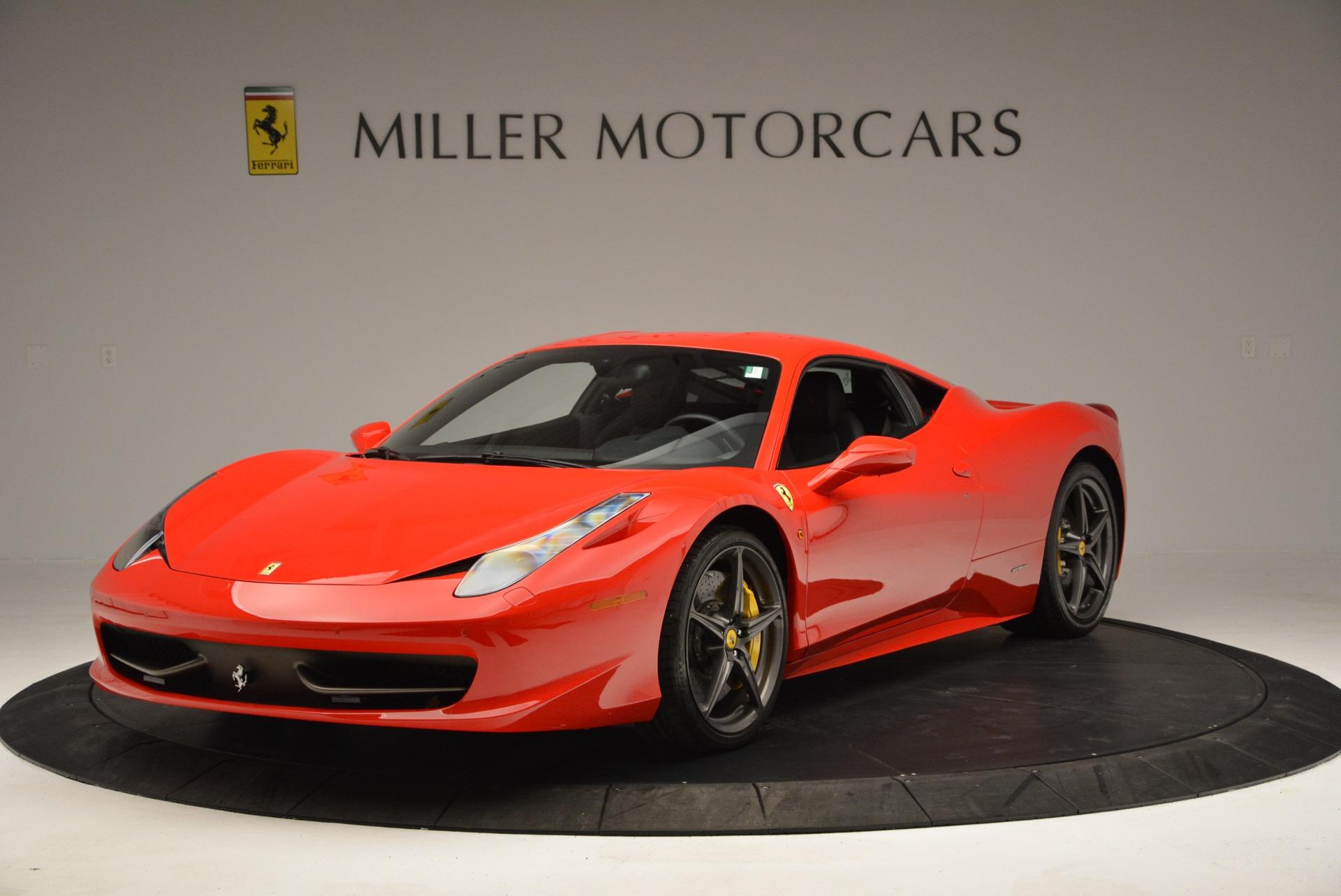 Used 2013 Ferrari 458 Italia  For Sale In Westport, CT 3490_main
