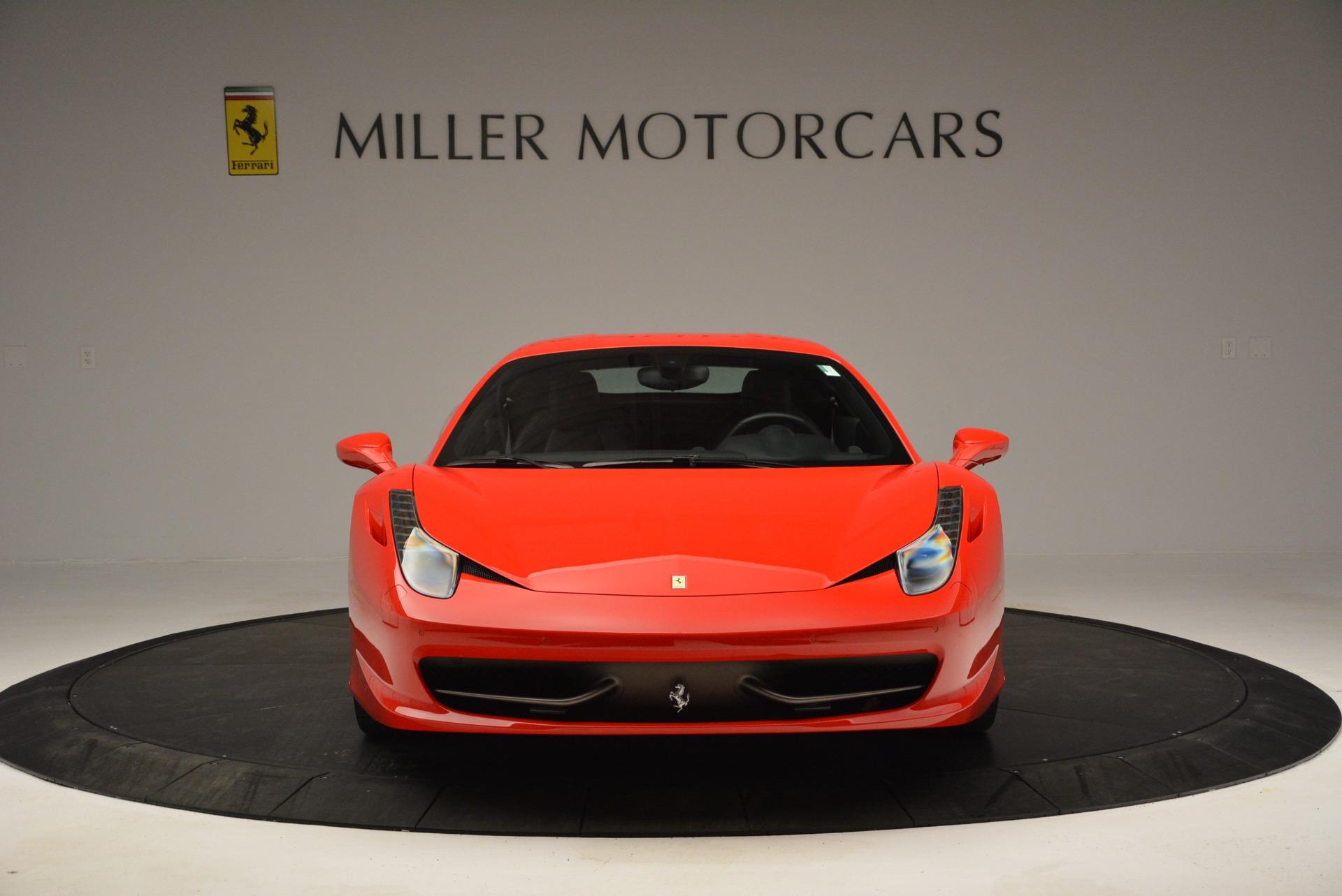 Used 2013 Ferrari 458 Italia  For Sale In Westport, CT 3490_p12