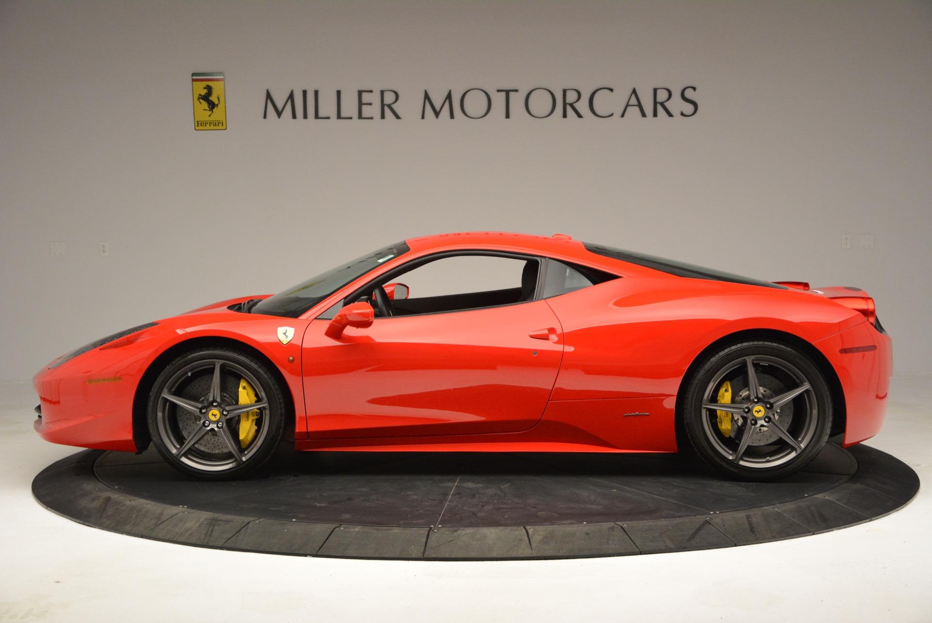 Used 2013 Ferrari 458 Italia  For Sale In Westport, CT 3490_p3