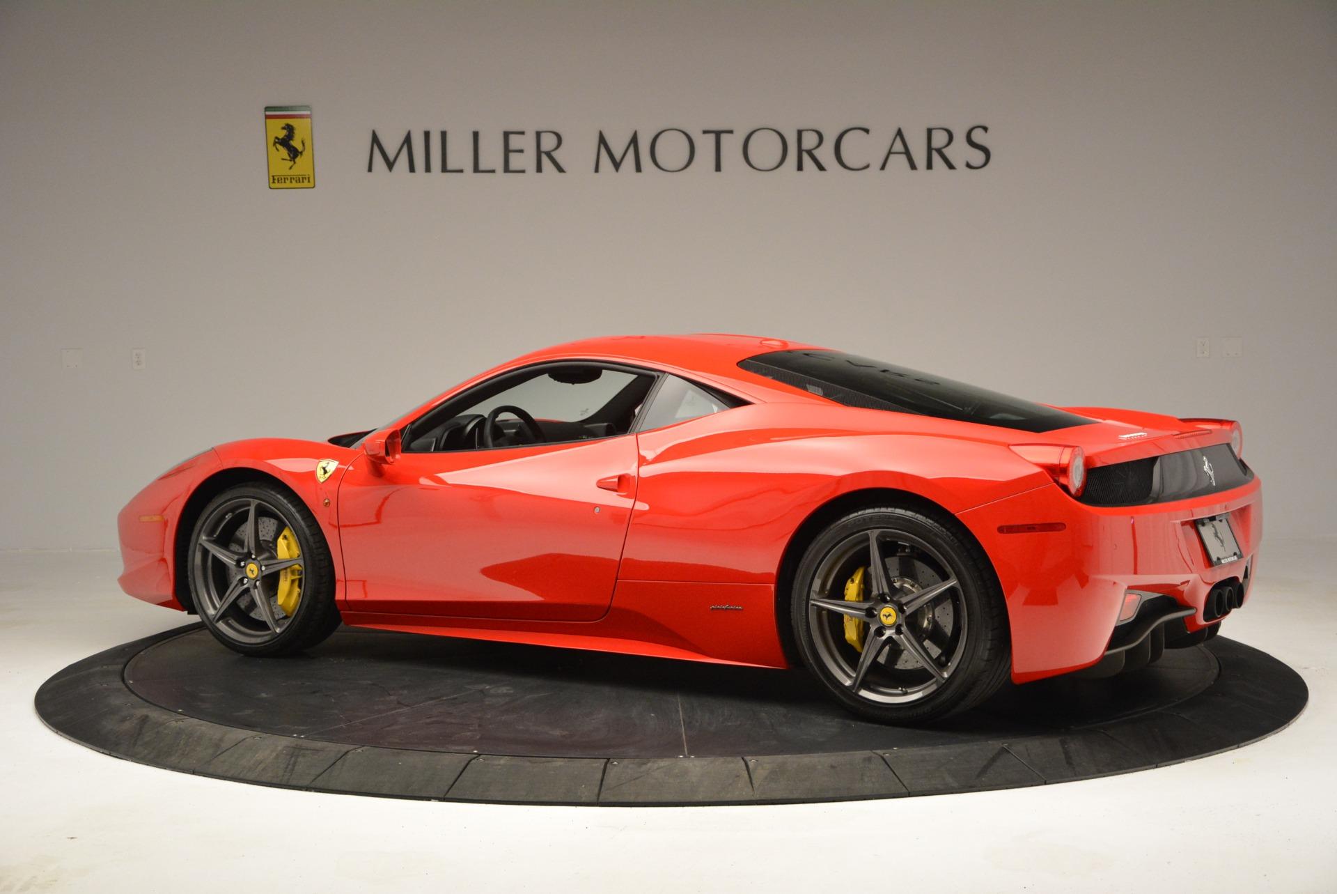 Used 2013 Ferrari 458 Italia  For Sale In Westport, CT 3490_p4