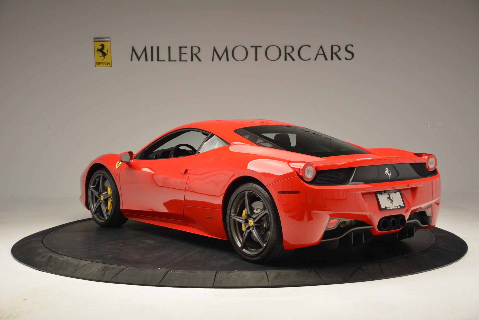 Used 2013 Ferrari 458 Italia  For Sale In Westport, CT 3490_p5