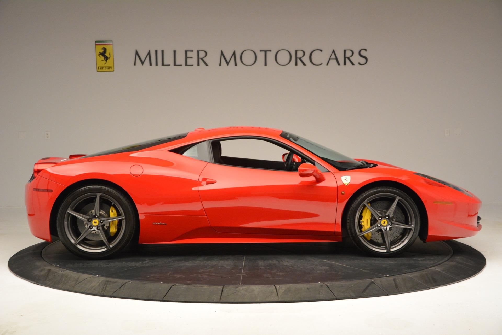 Used 2013 Ferrari 458 Italia  For Sale In Westport, CT 3490_p9