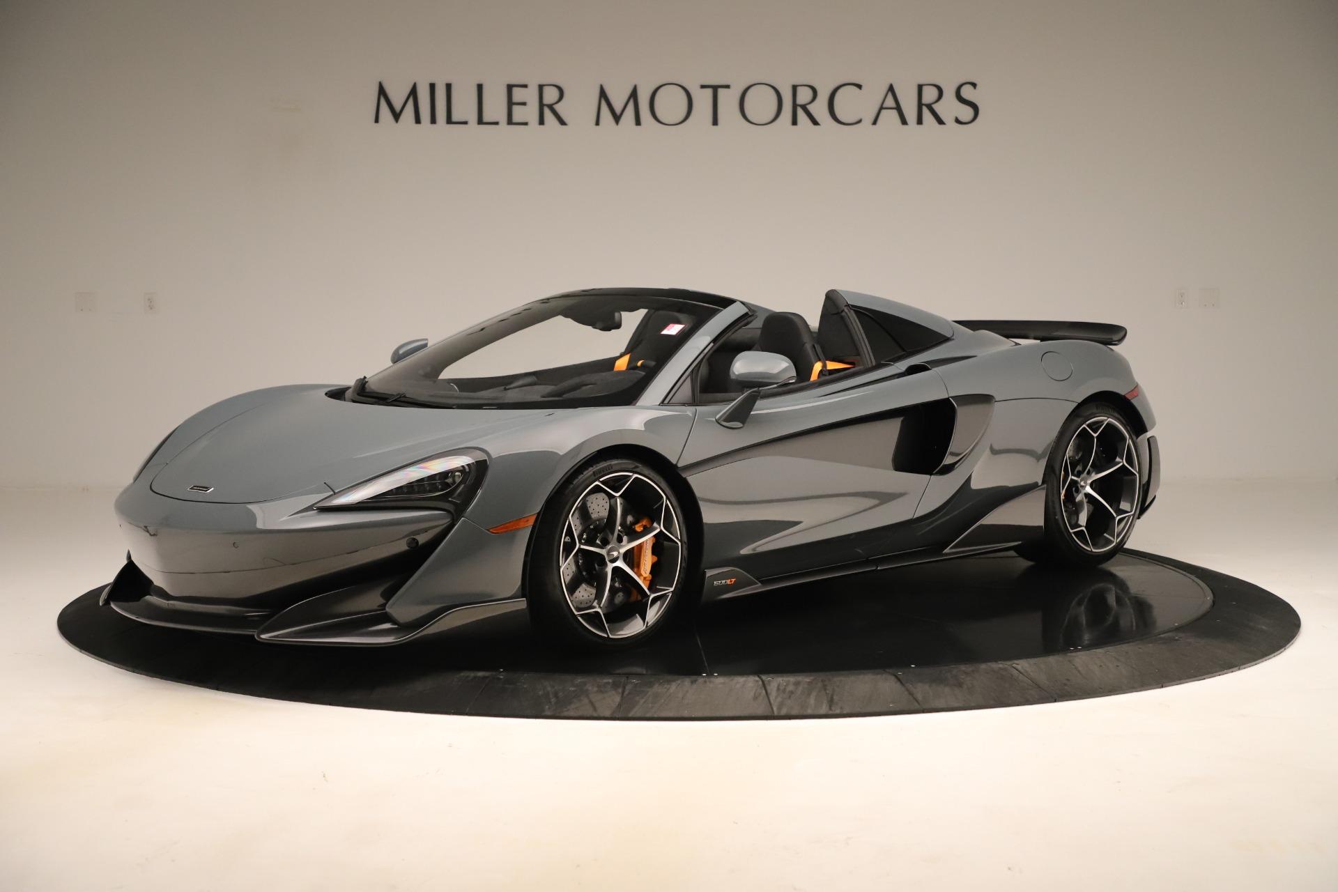 New 2020 McLaren 600LT Spider For Sale In Westport, CT 3498_main