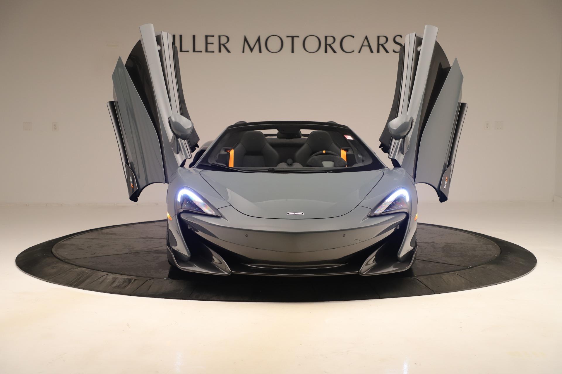New 2020 McLaren 600LT Spider For Sale In Westport, CT 3498_p12