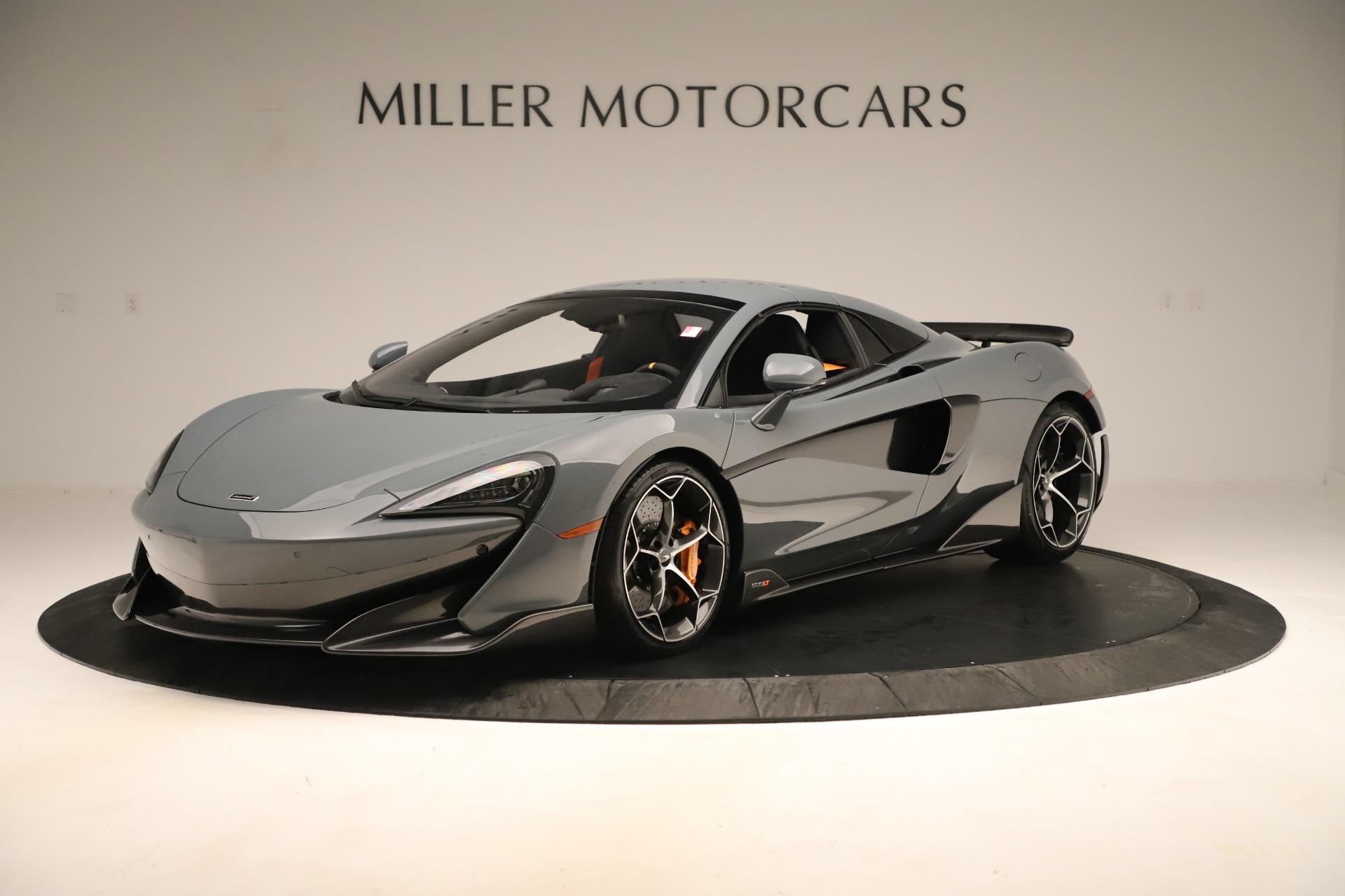 New 2020 McLaren 600LT Spider For Sale In Westport, CT 3498_p14