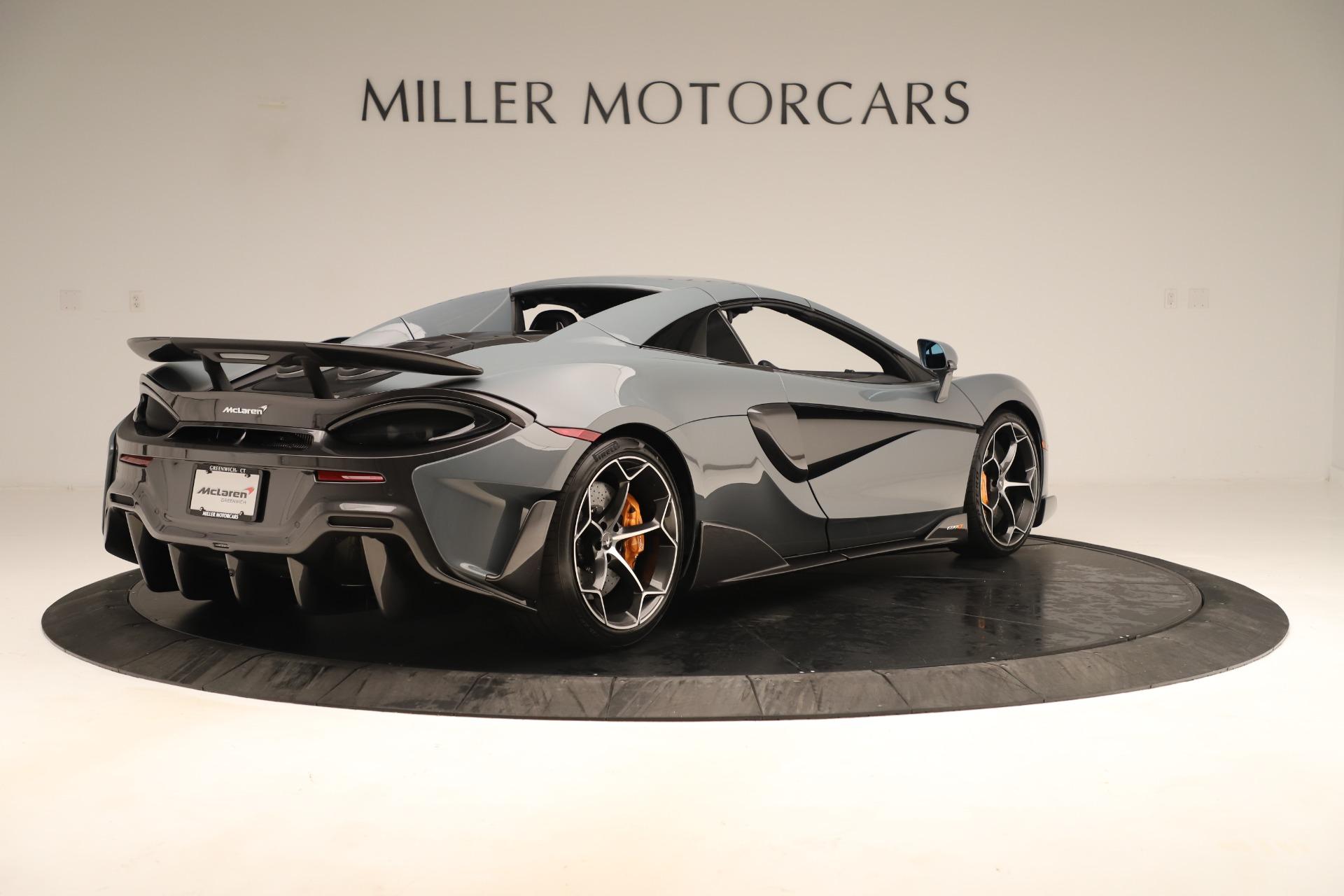 New 2020 McLaren 600LT Spider For Sale In Westport, CT 3498_p18
