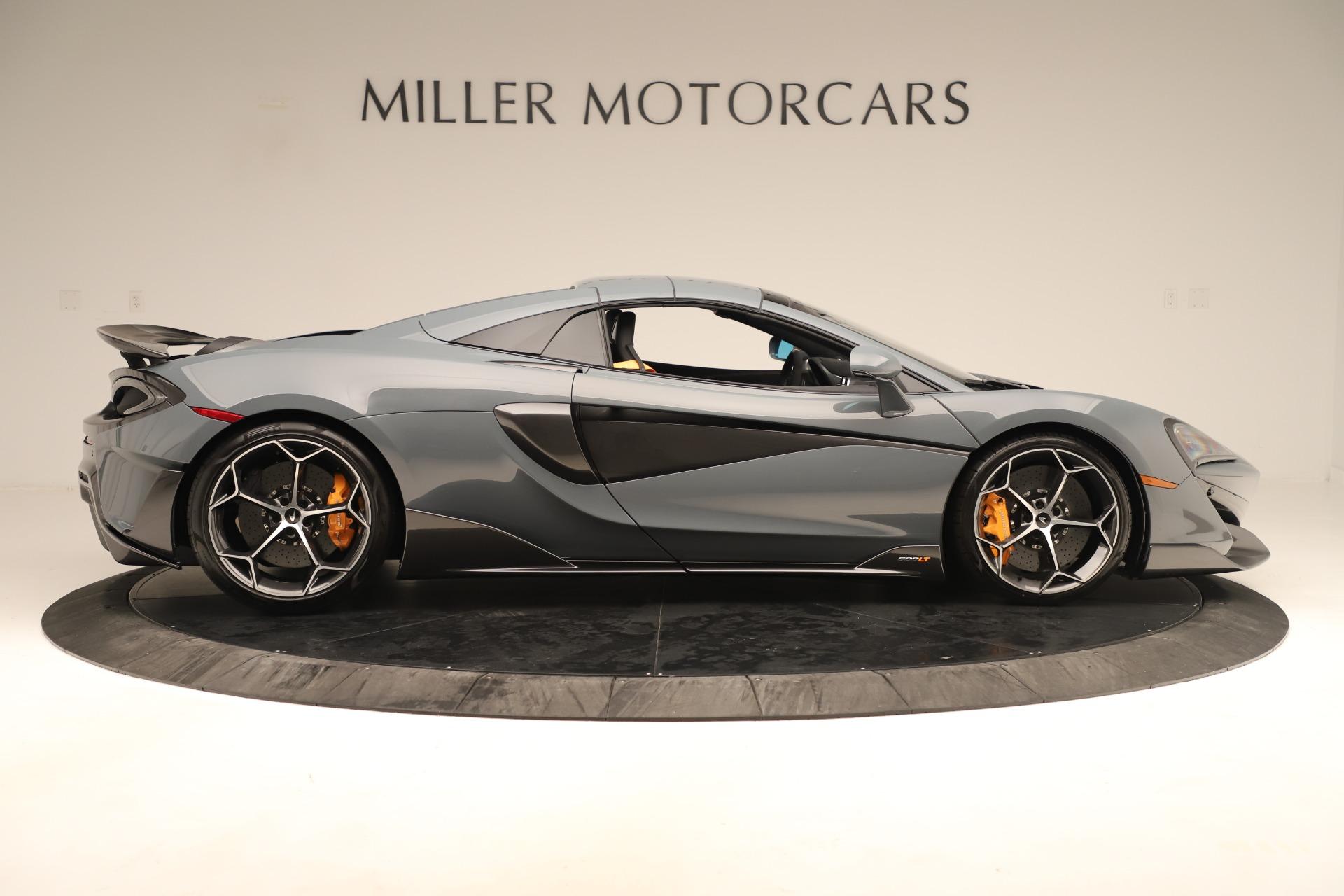New 2020 McLaren 600LT Spider For Sale In Westport, CT 3498_p19