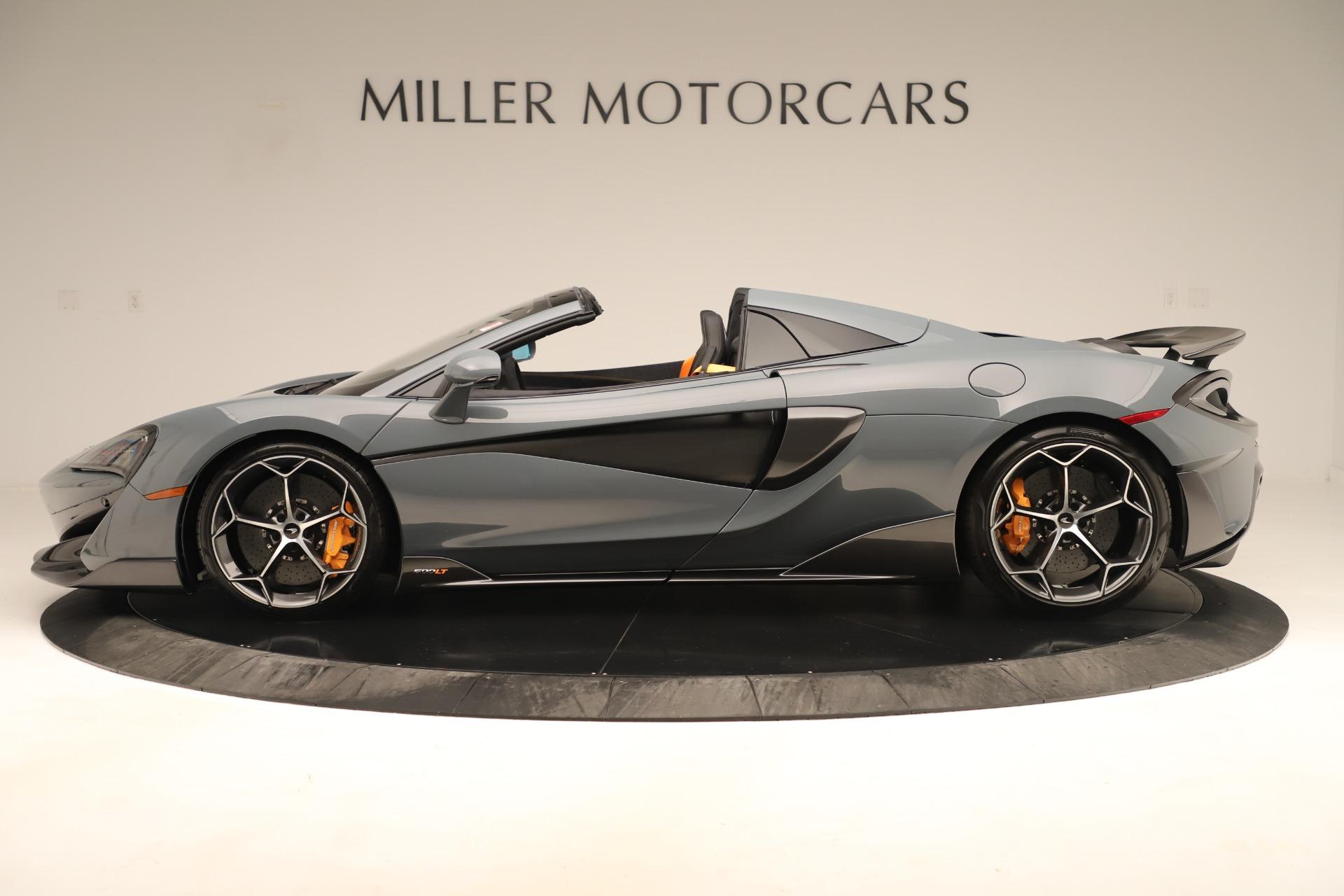 New 2020 McLaren 600LT Spider For Sale In Westport, CT 3498_p2