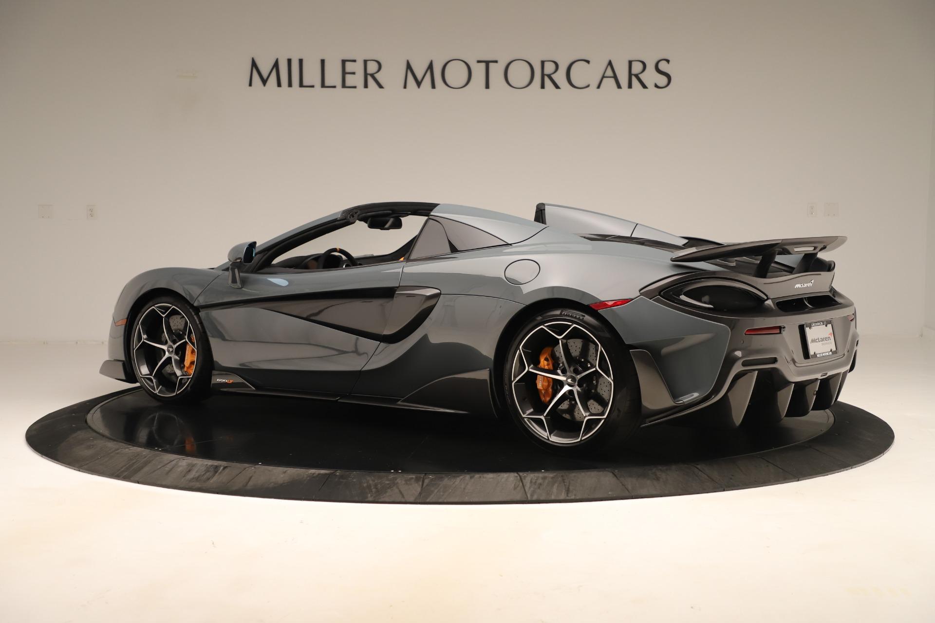 New 2020 McLaren 600LT Spider For Sale In Westport, CT 3498_p3