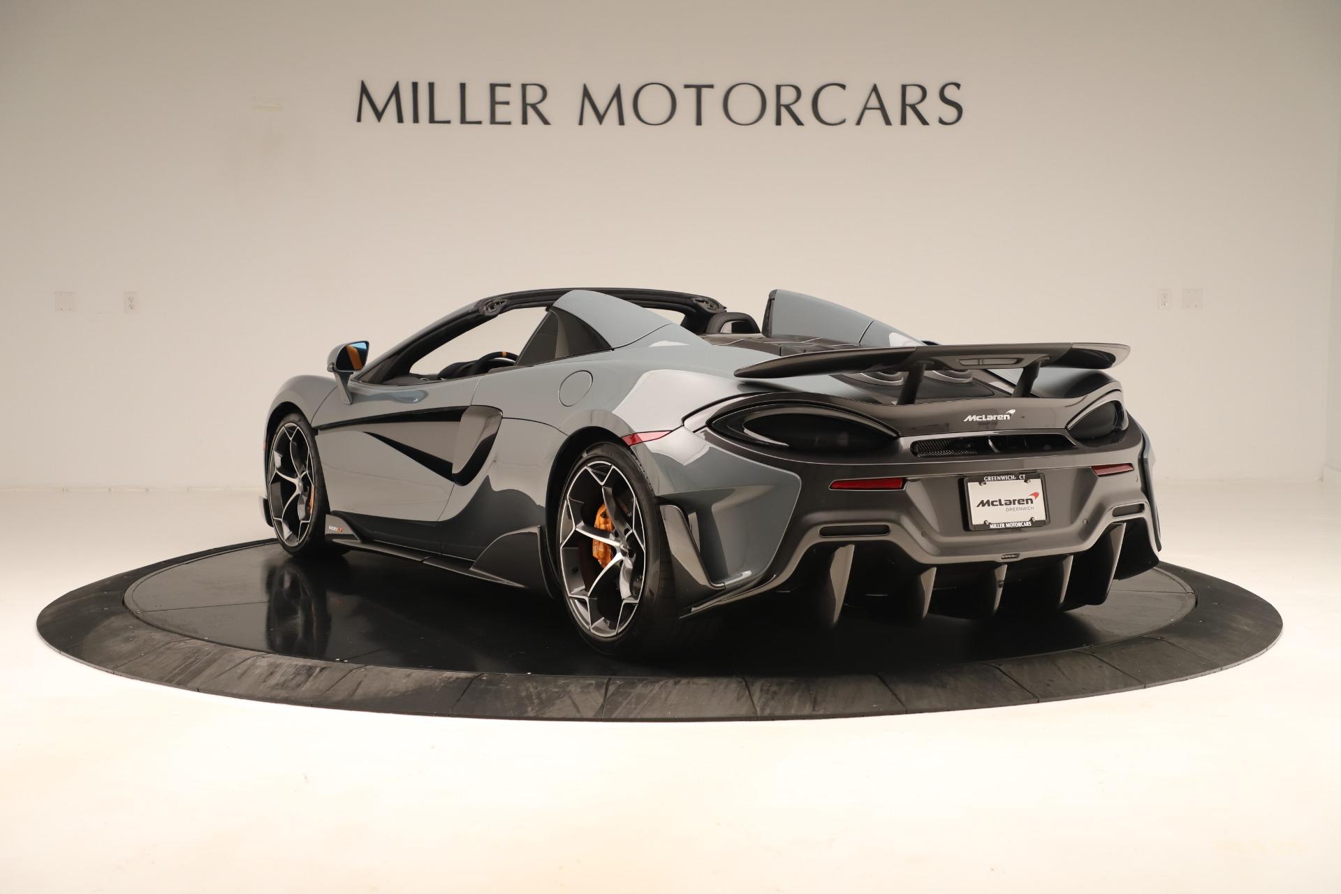 New 2020 McLaren 600LT Spider For Sale In Westport, CT 3498_p4