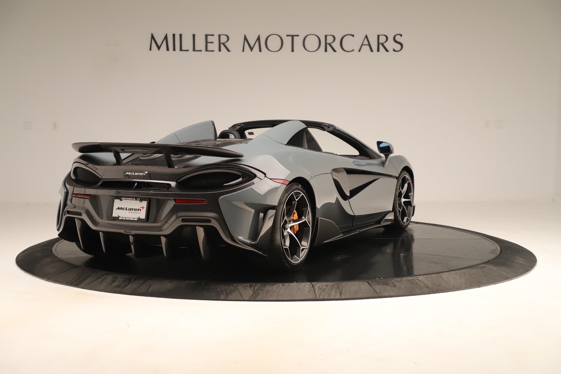 New 2020 McLaren 600LT Spider For Sale In Westport, CT 3498_p6