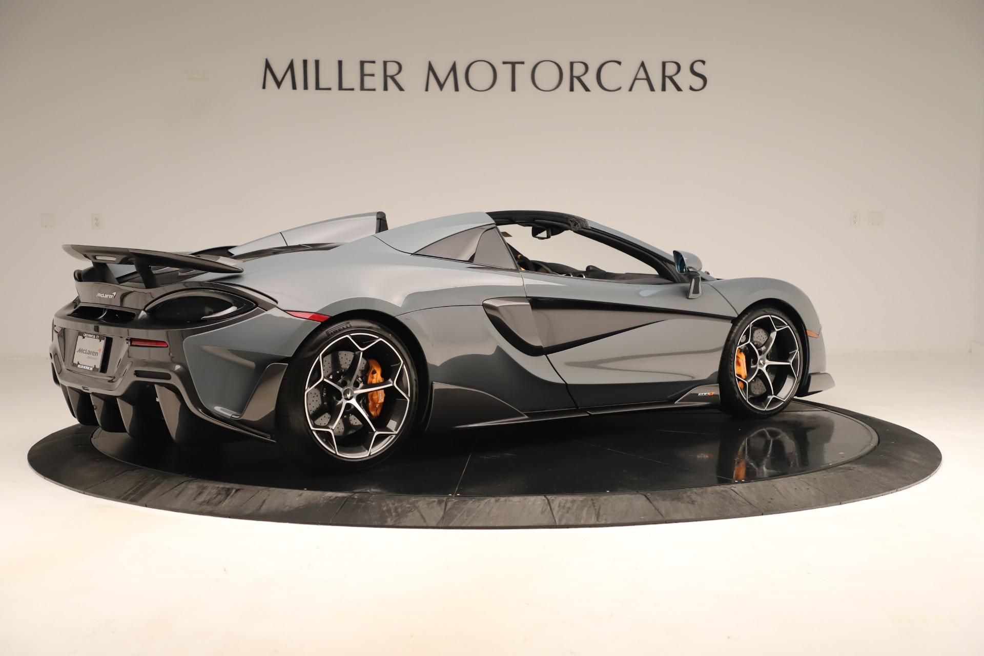 New 2020 McLaren 600LT Spider For Sale In Westport, CT 3498_p7