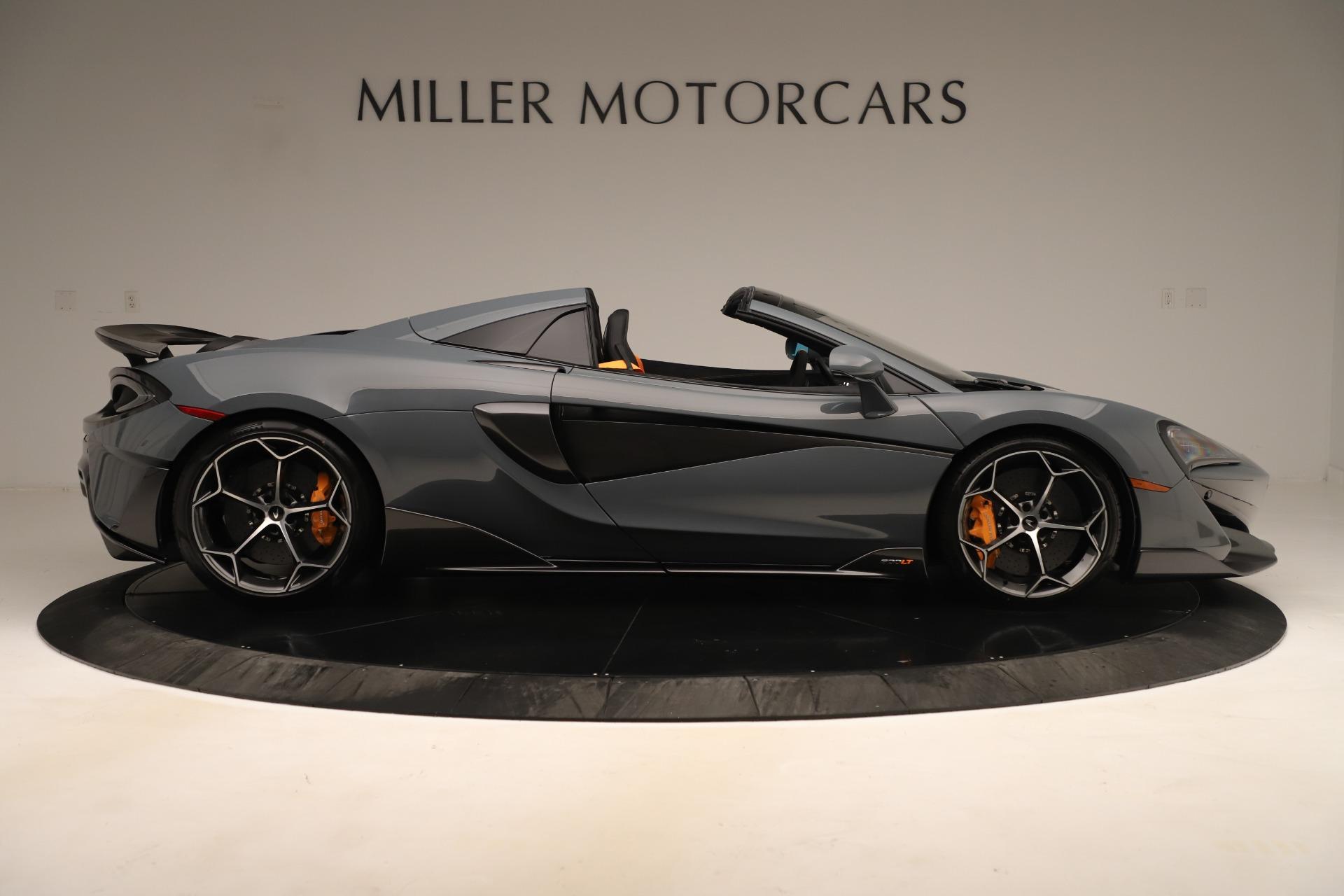 New 2020 McLaren 600LT Spider For Sale In Westport, CT 3498_p8