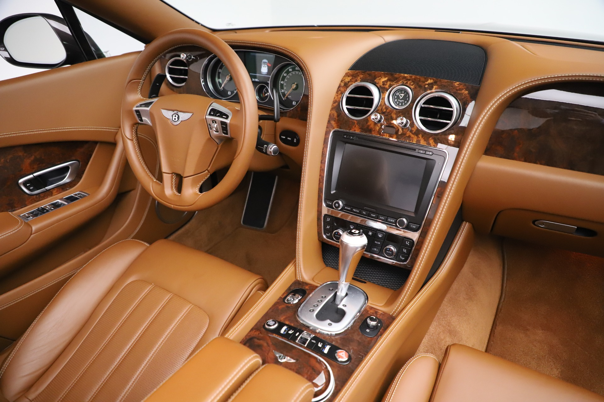 Used 2013 Bentley Continental GT W12 For Sale In Westport, CT 3505_p35
