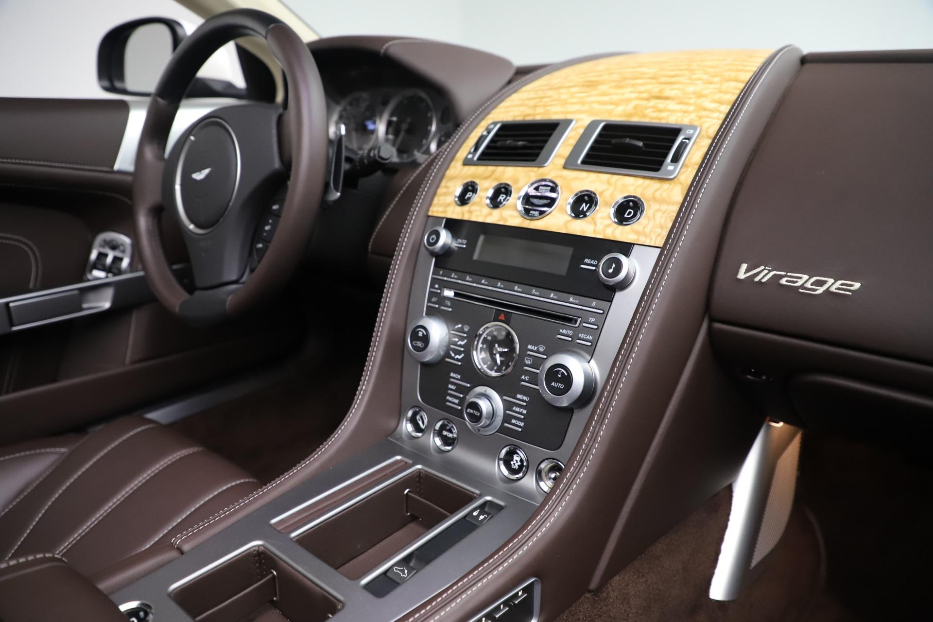 Used 2012 Aston Martin Virage Volante For Sale In Westport, CT 3515_p25