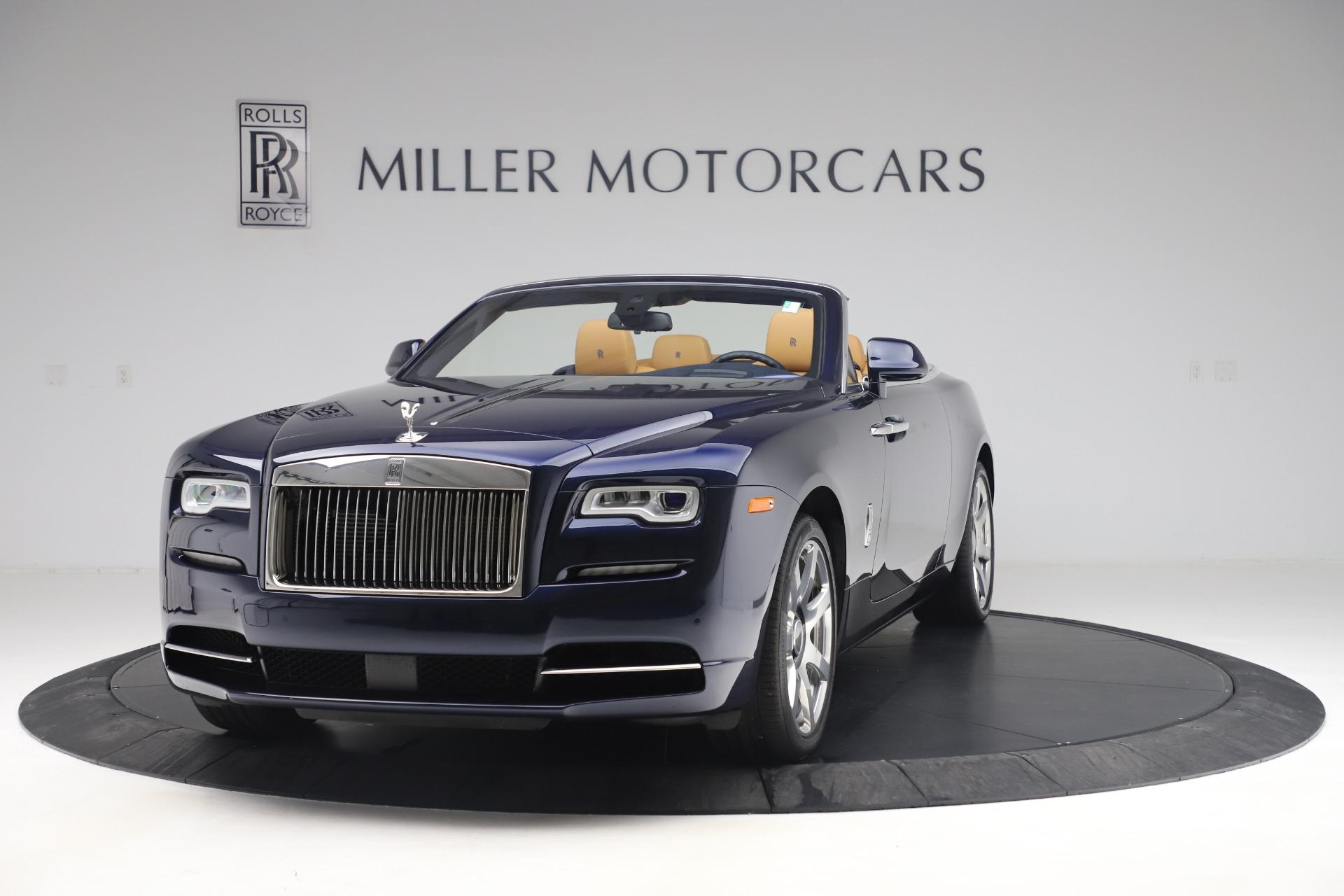 Used 2017 Rolls-Royce Dawn  For Sale In Westport, CT 3519_main