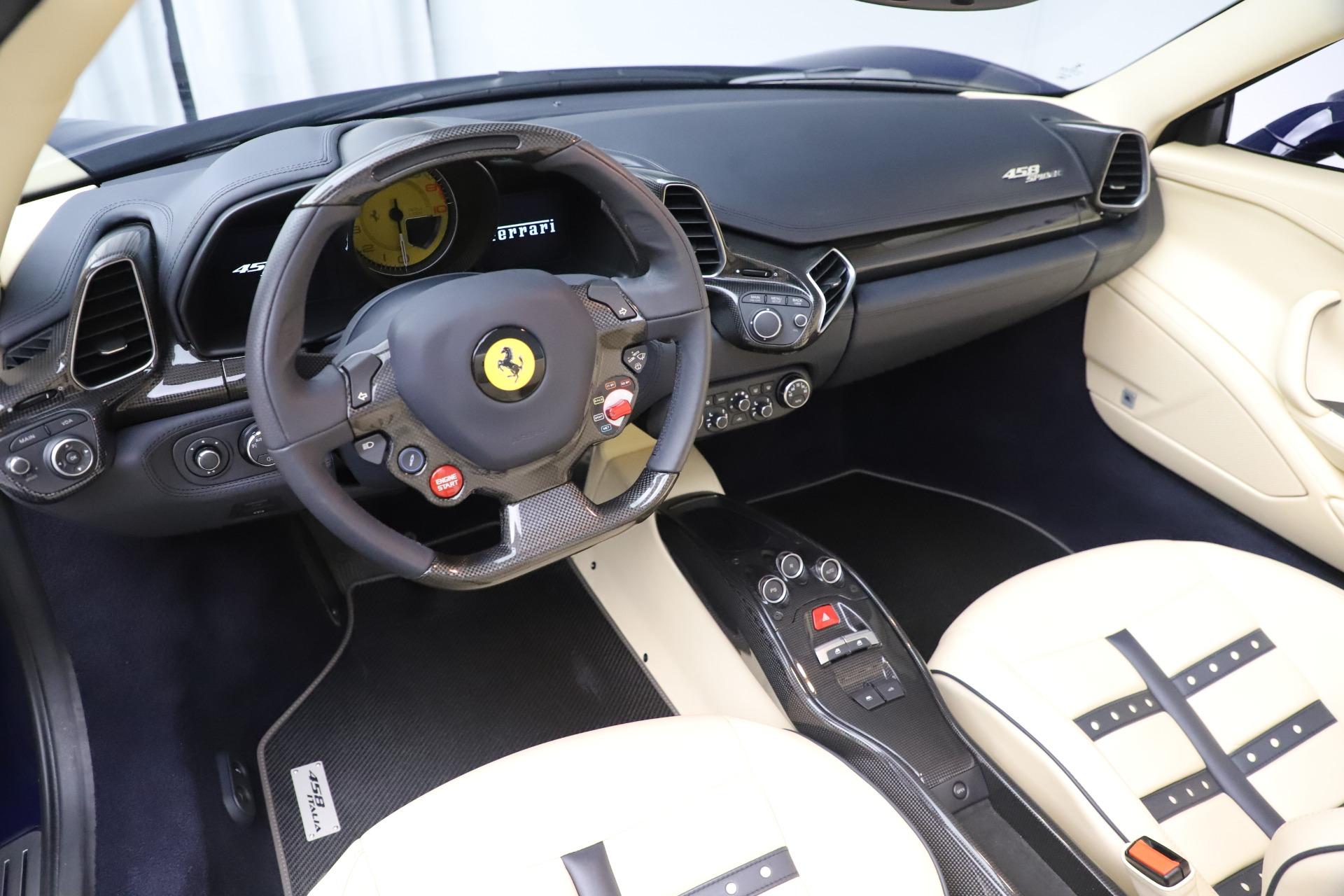 Used 2013 Ferrari 458 Spider  For Sale In Westport, CT 3525_p19