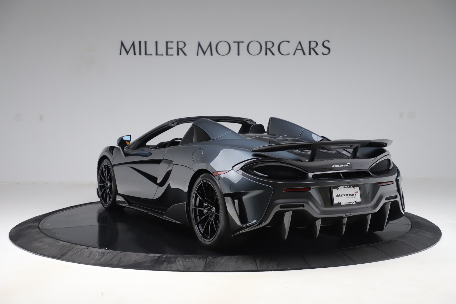 New 2020 McLaren 600LT Spider  For Sale In Westport, CT 3552_p4