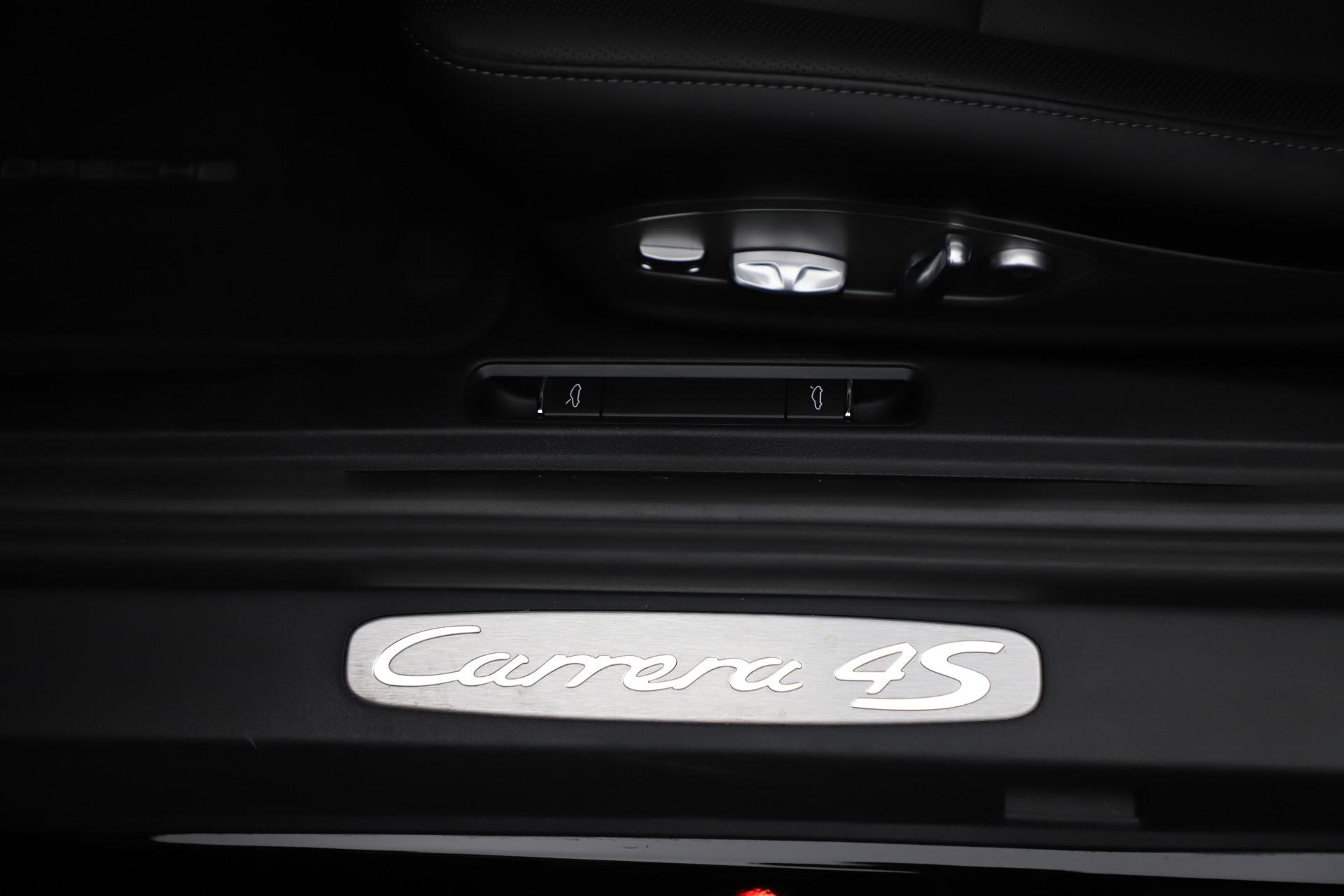Used 2017 Porsche 911 Carrera 4S For Sale In Westport, CT 3562_p28