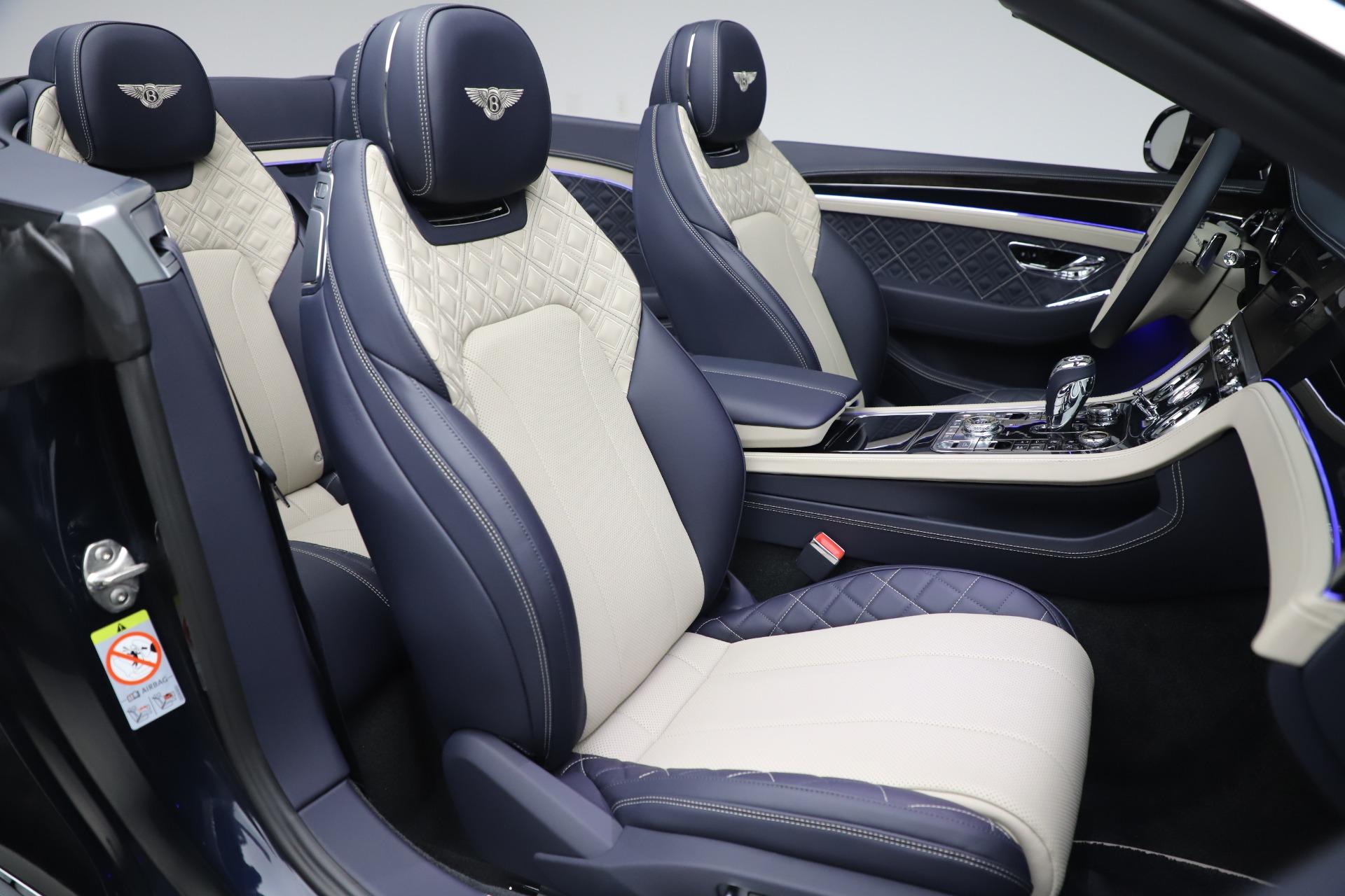 New 2020 Bentley Continental GTC V8 For Sale In Westport, CT 3566_p31
