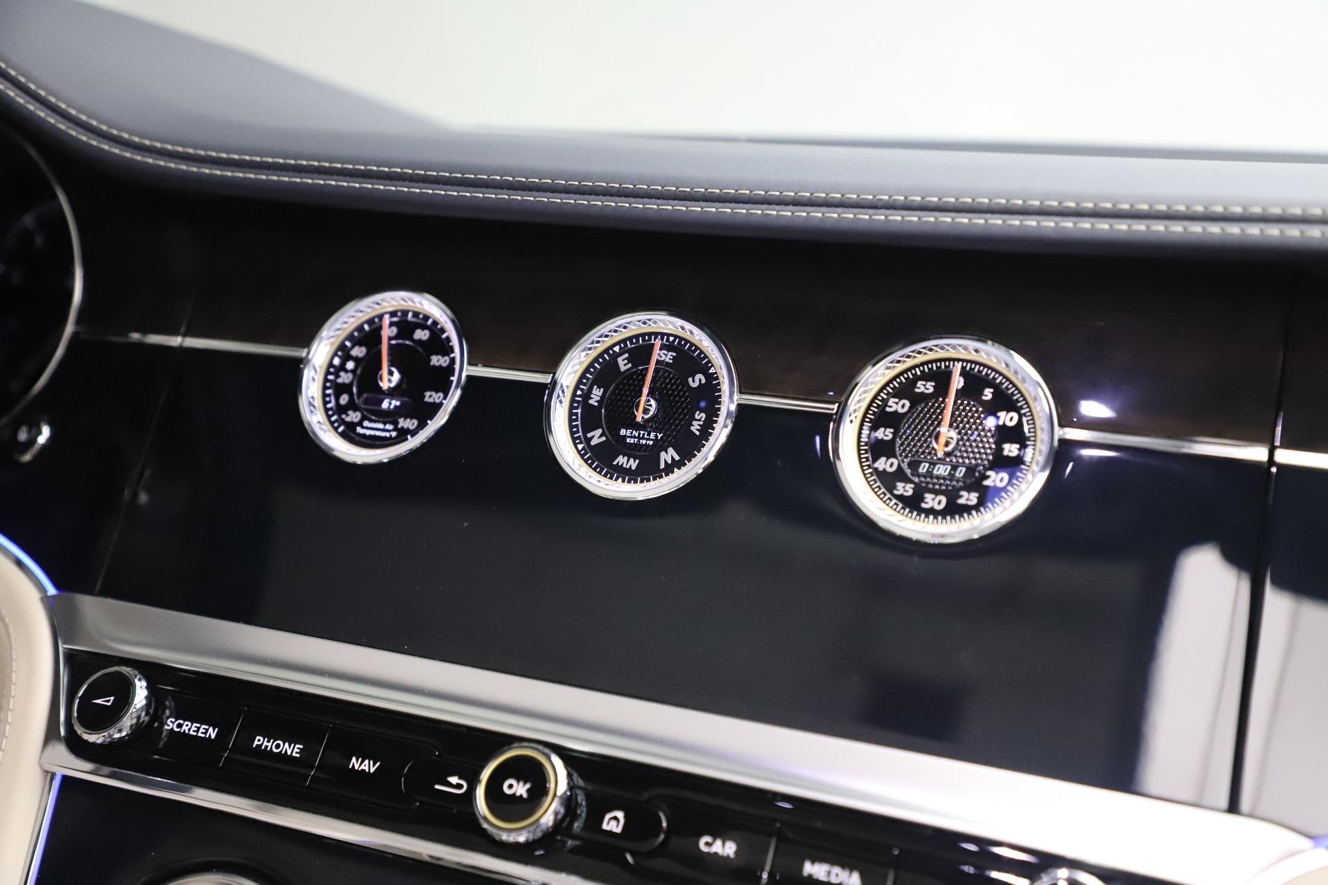 New 2020 Bentley Continental GTC V8 For Sale In Westport, CT 3566_p32
