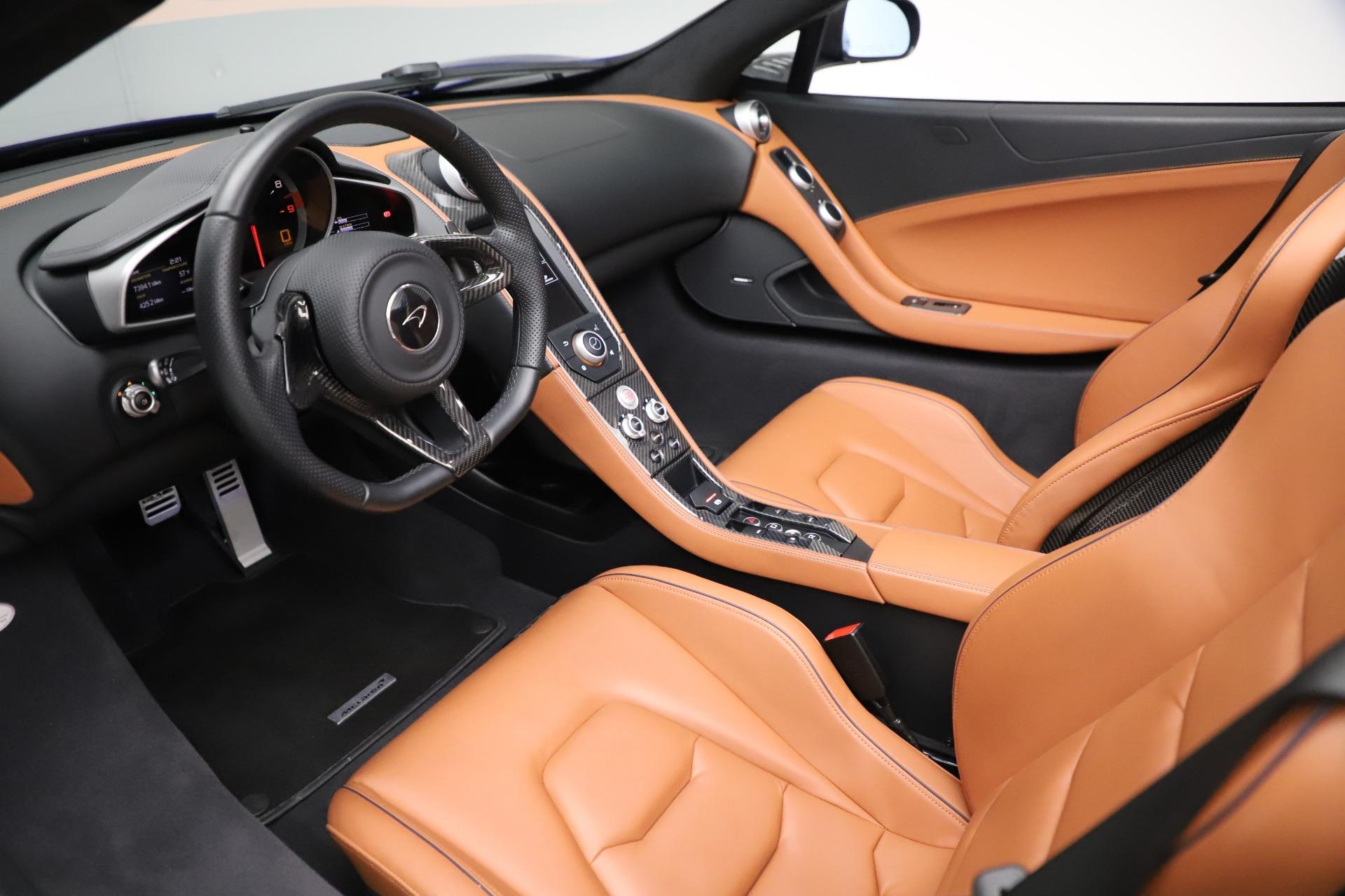 Used 2015 McLaren 650S SPIDER Convertible For Sale In Westport, CT 3569_p24