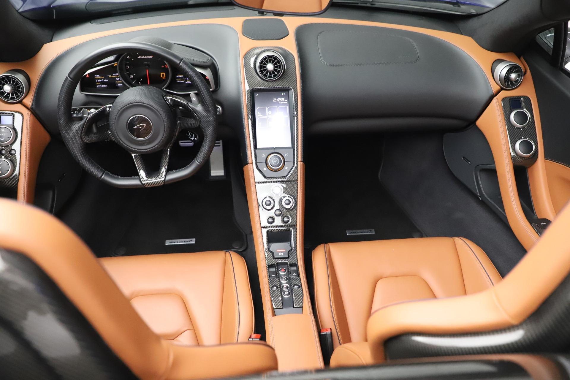 Used 2015 McLaren 650S SPIDER Convertible For Sale In Westport, CT 3569_p27