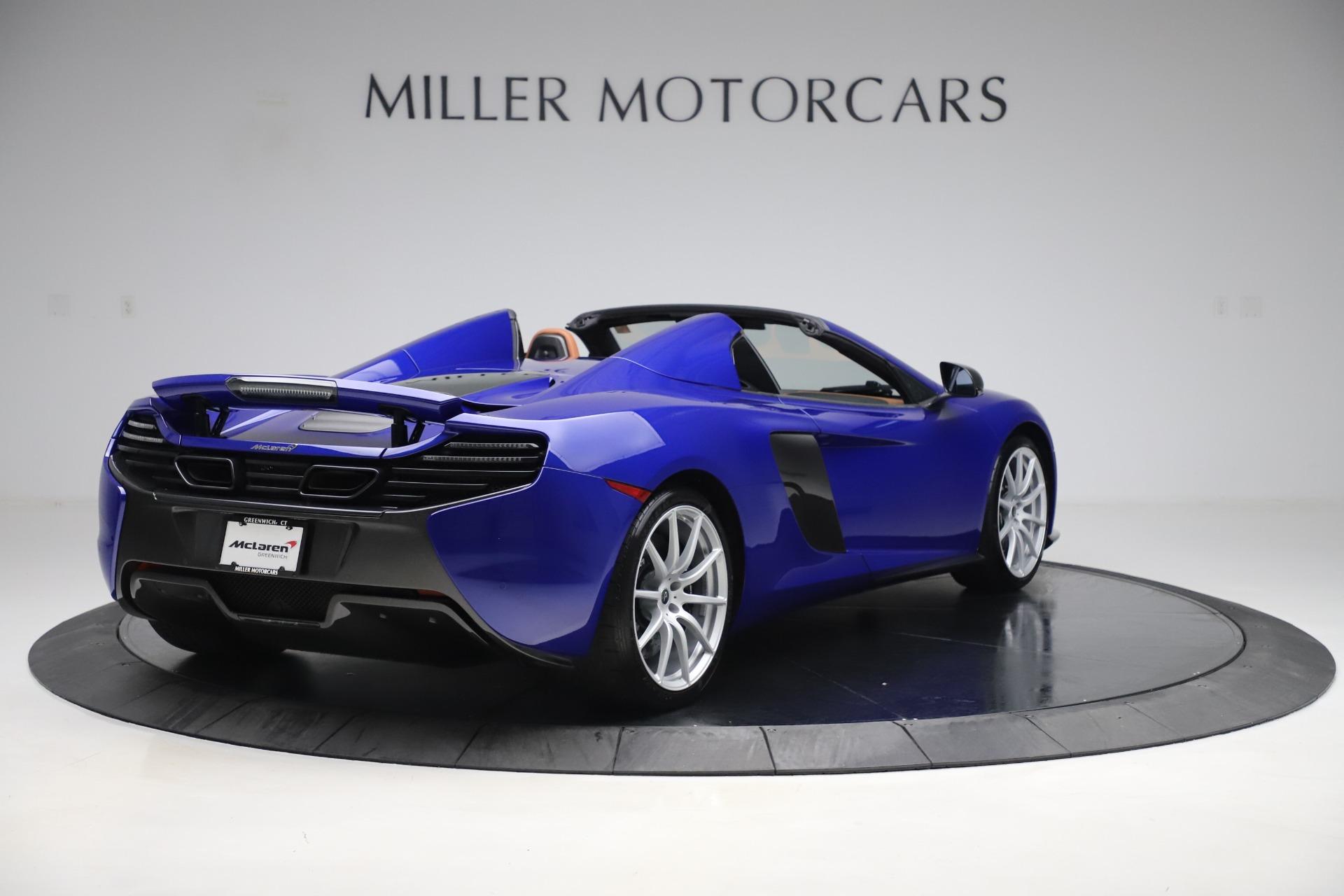 Used 2015 McLaren 650S SPIDER Convertible For Sale In Westport, CT 3569_p7