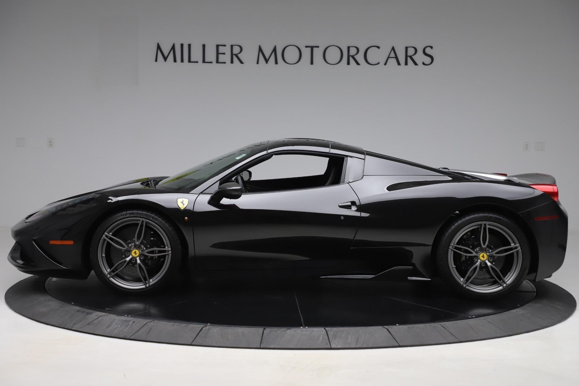 Used 2015 Ferrari 458 Speciale Aperta  For Sale In Westport, CT 3571_p14
