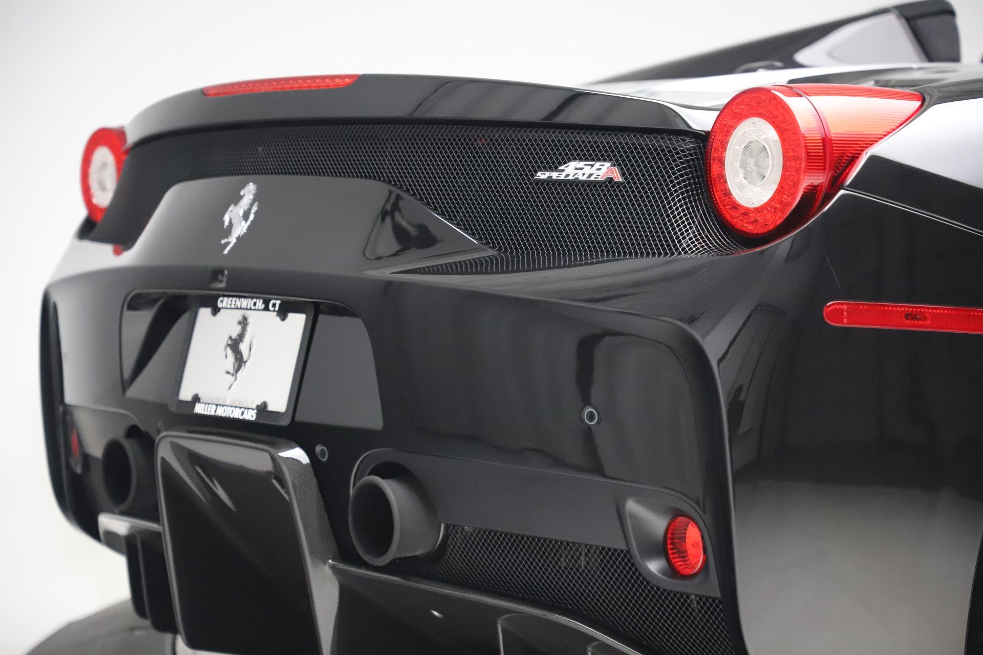Used 2015 Ferrari 458 Speciale Aperta  For Sale In Westport, CT 3571_p35