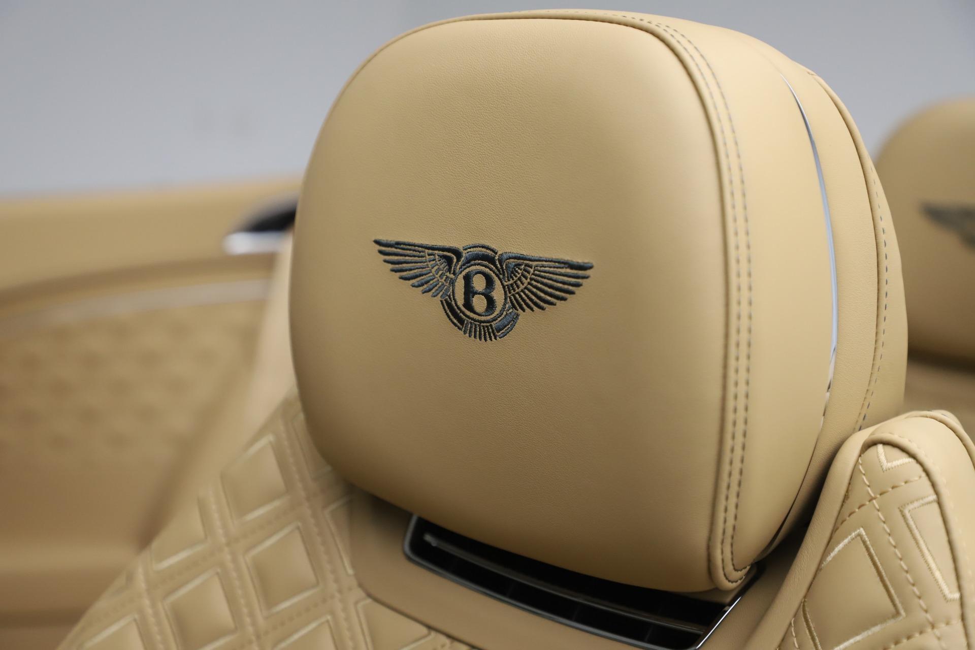 New 2020 Bentley Continental GTC V8 For Sale In Westport, CT 3572_p30