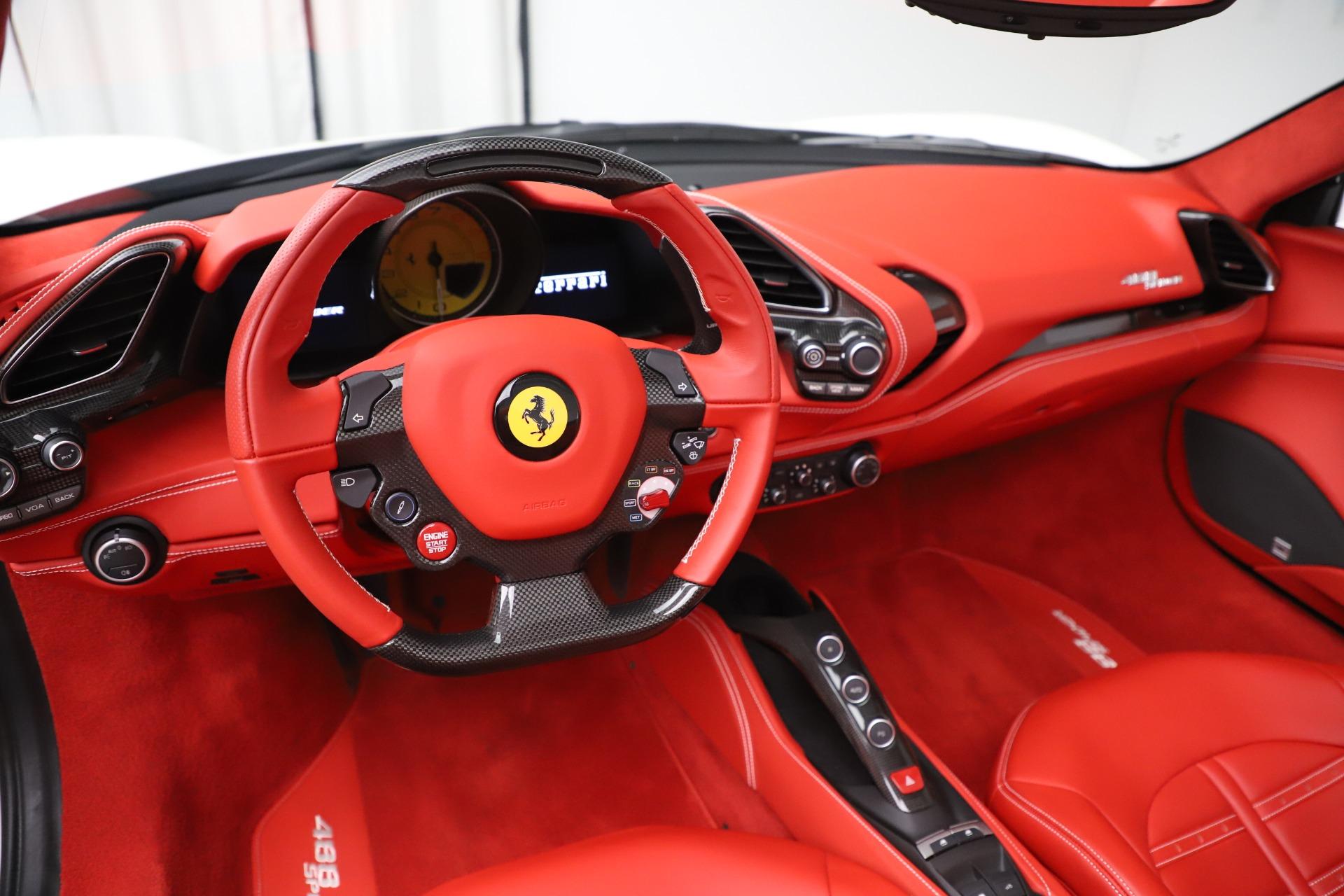 Used 2018 Ferrari 488 Spider  For Sale In Westport, CT 3579_p19