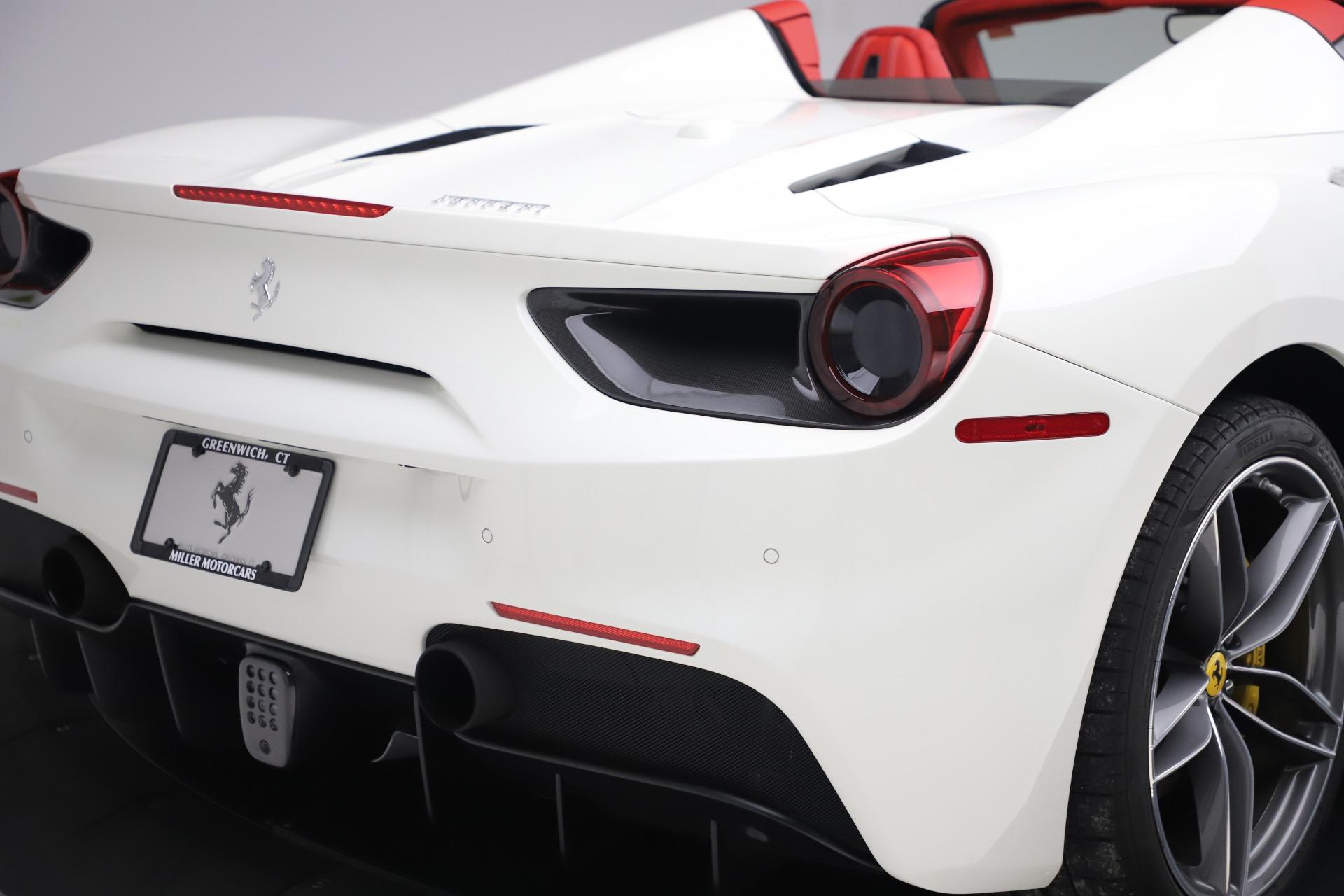 Used 2018 Ferrari 488 Spider  For Sale In Westport, CT 3579_p30