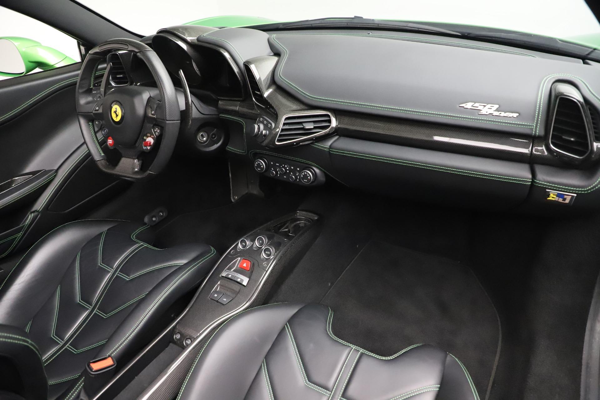 Used 2015 Ferrari 458 Spider  For Sale In Westport, CT 3580_p23