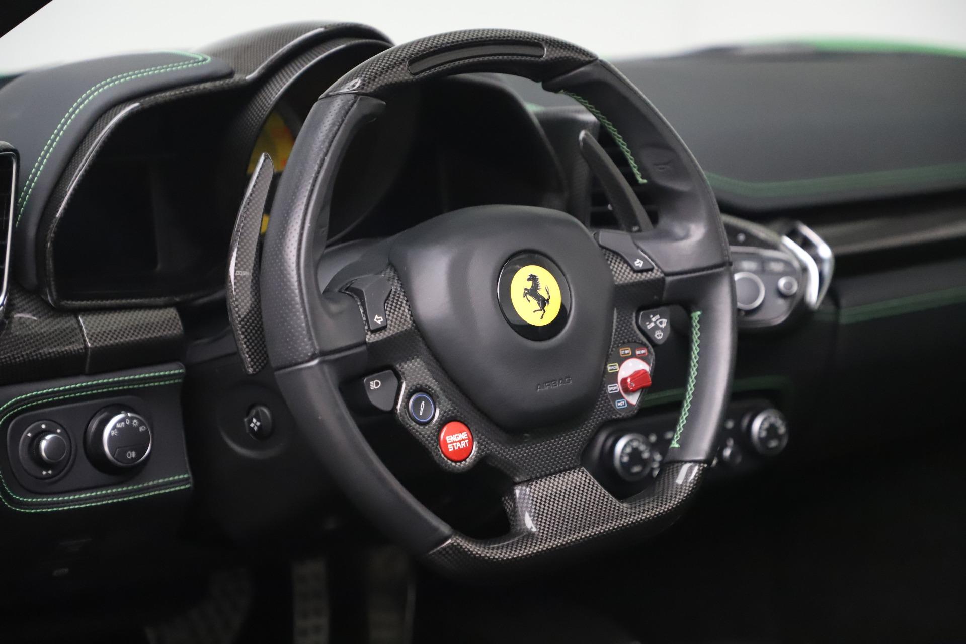 Used 2015 Ferrari 458 Spider  For Sale In Westport, CT 3580_p26