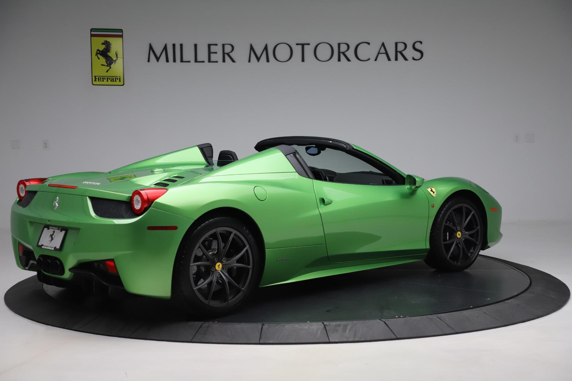 Used 2015 Ferrari 458 Spider  For Sale In Westport, CT 3580_p8