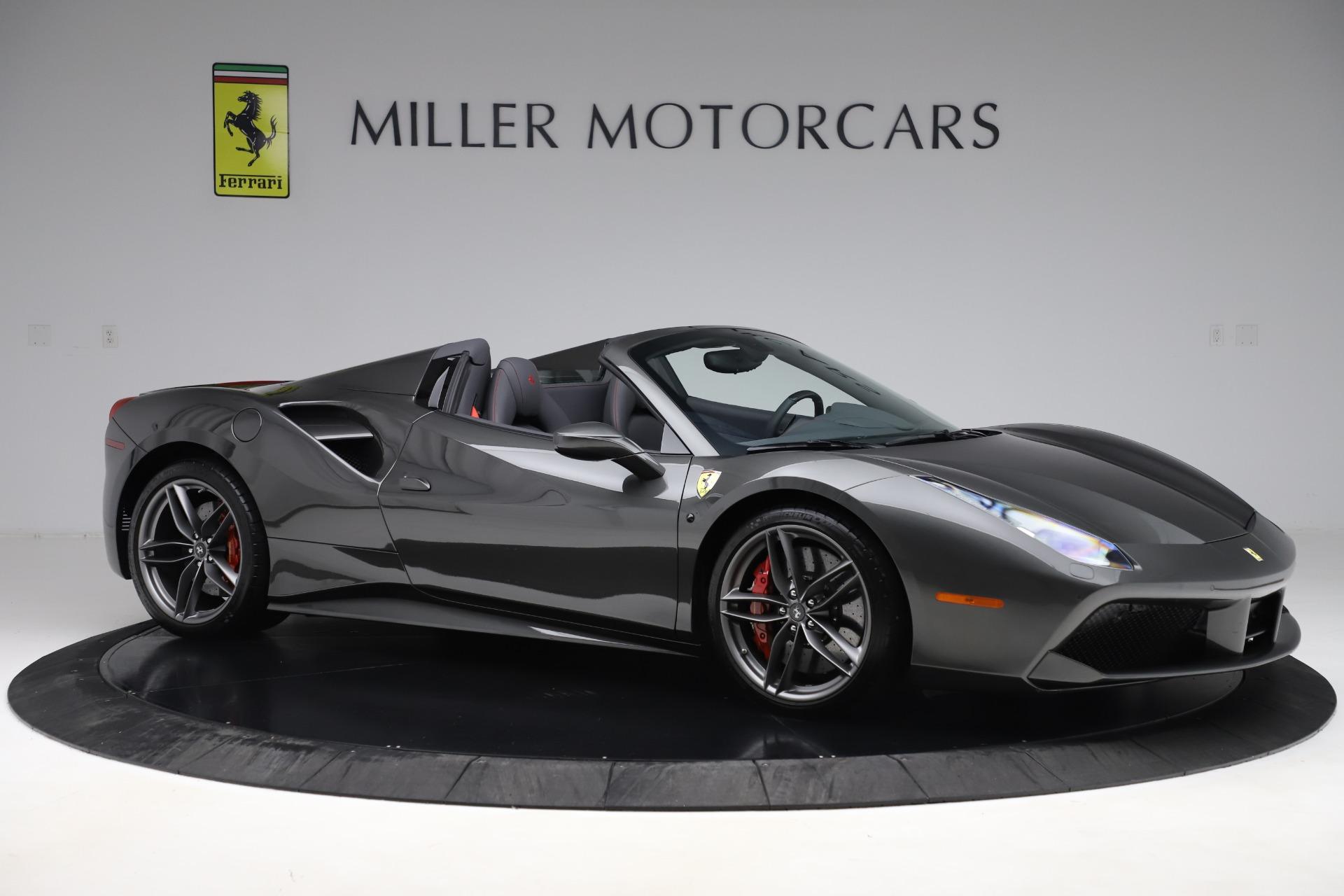 Used 2018 Ferrari 488 Spider  For Sale In Westport, CT 3584_p10