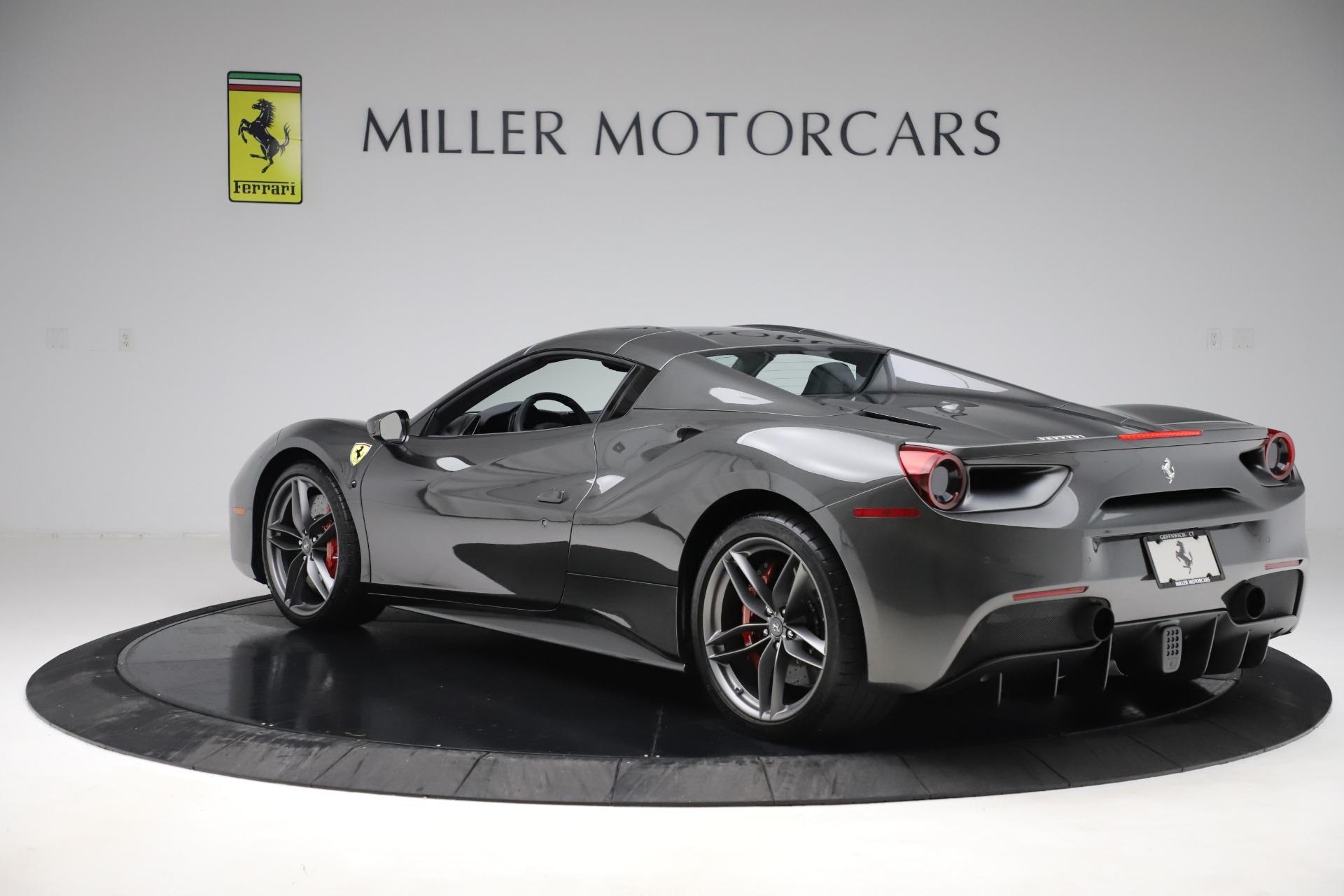 Used 2018 Ferrari 488 Spider  For Sale In Westport, CT 3584_p15