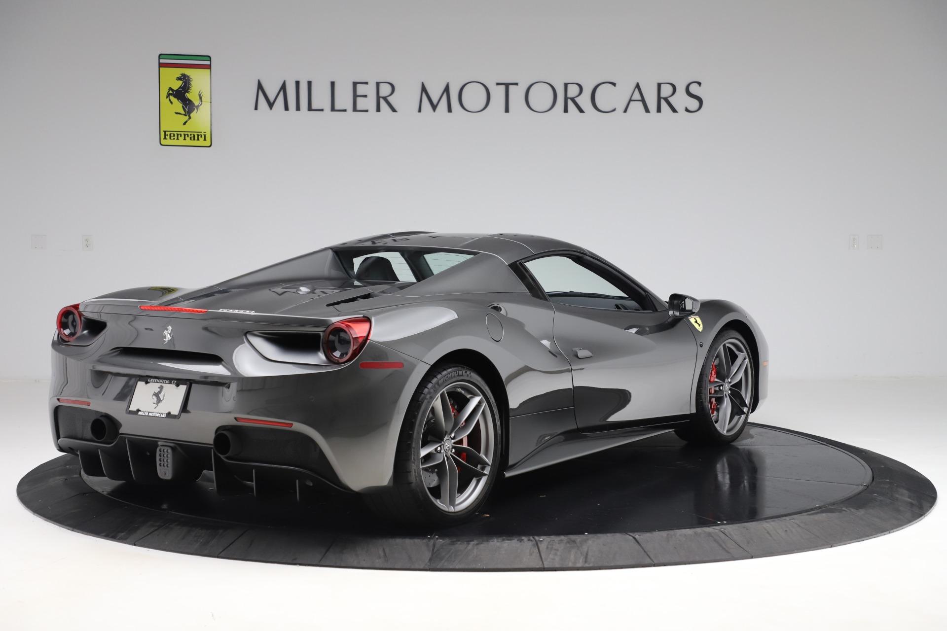 Used 2018 Ferrari 488 Spider  For Sale In Westport, CT 3584_p16